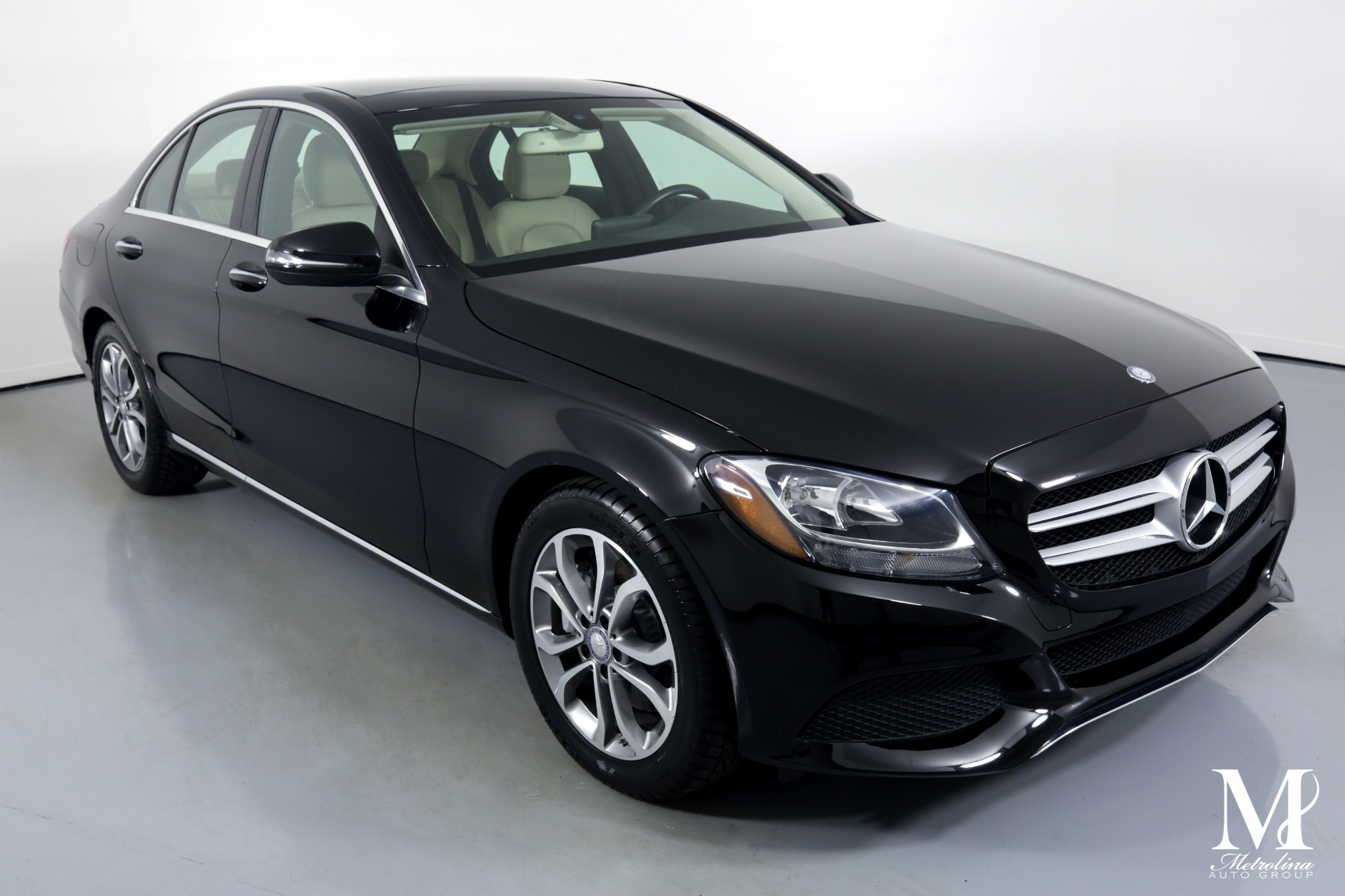Used 2016 Mercedes-Benz C-Class C 300 for sale $23,456 at Metrolina Auto Group in Charlotte NC 28217 - 2