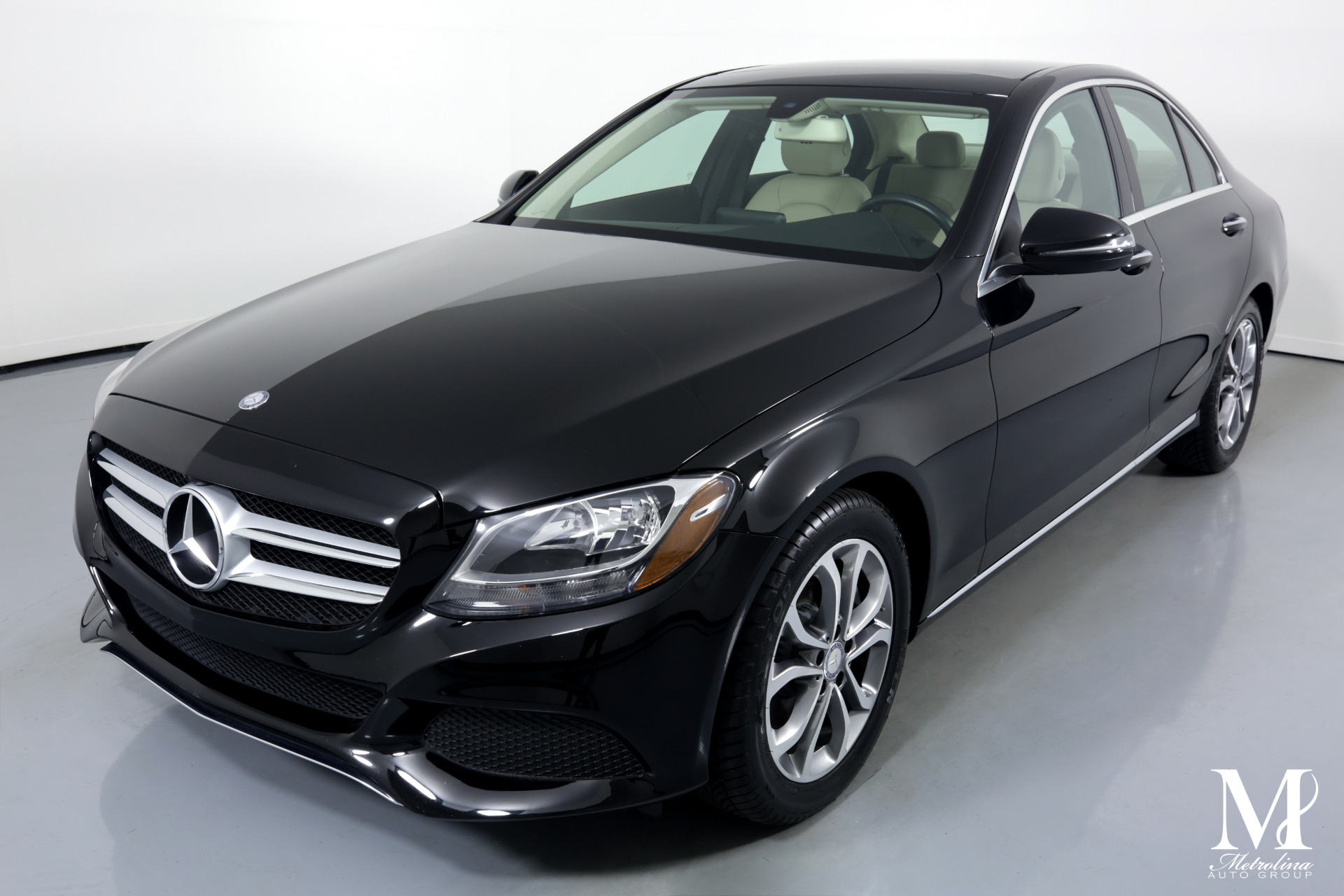 Used 2016 Mercedes-Benz C-Class C 300 for sale $23,456 at Metrolina Auto Group in Charlotte NC 28217 - 4
