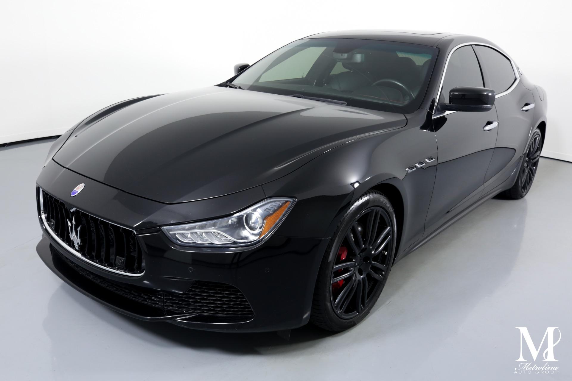 Used 2015 Maserati Ghibli S Q4 for sale $29,996 at Metrolina Auto Group in Charlotte NC 28217 - 4