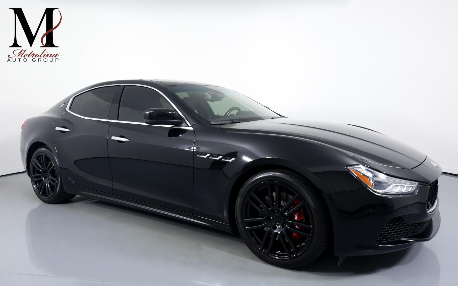 Used 2015 Maserati Ghibli S Q4 for sale $29,996 at Metrolina Auto Group in Charlotte NC 28217 - 1