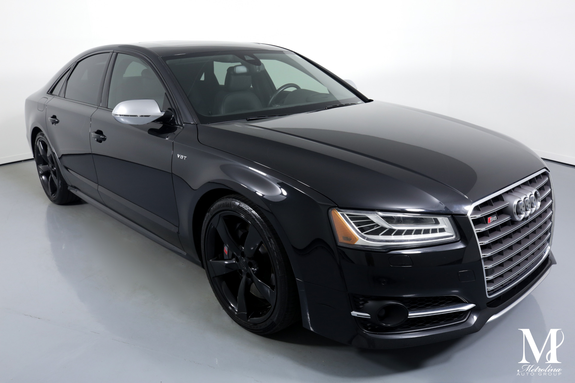 Used 2015 Audi S8 4.0T quattro for sale $39,996 at Metrolina Auto Group in Charlotte NC 28217 - 2