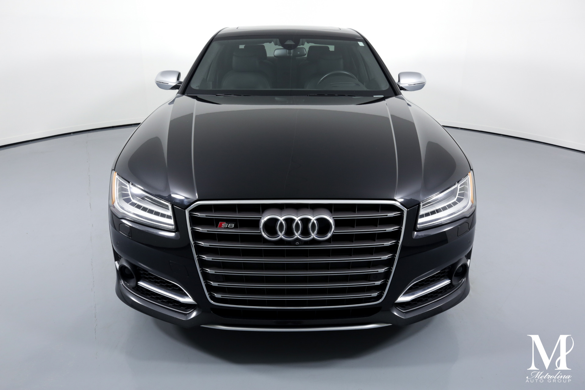 Used 2015 Audi S8 4.0T quattro for sale $39,996 at Metrolina Auto Group in Charlotte NC 28217 - 3