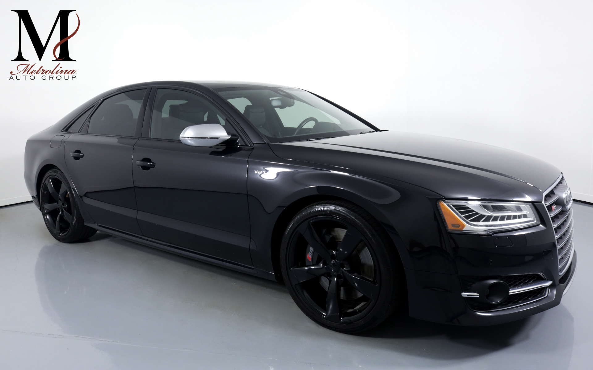 Used 2015 Audi S8 4.0T quattro for sale $39,996 at Metrolina Auto Group in Charlotte NC 28217 - 1