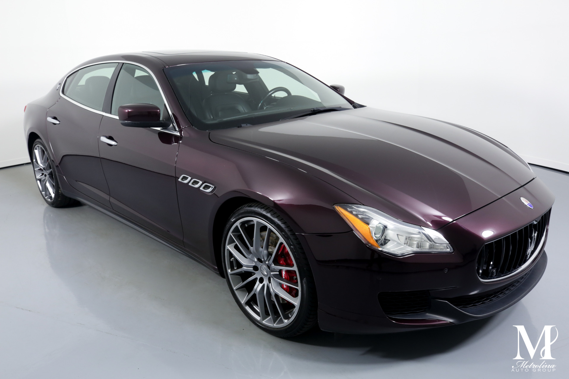 Used 2014 Maserati Quattroporte Sport GT S for sale $39,996 at Metrolina Auto Group in Charlotte NC 28217 - 2