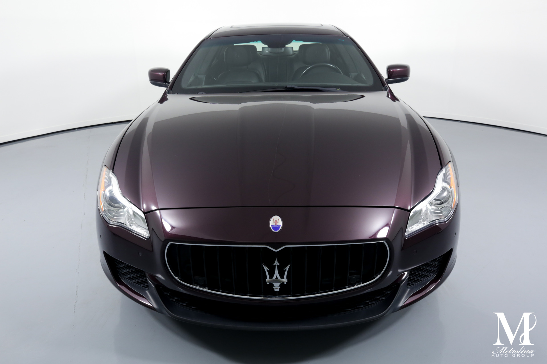 Used 2014 Maserati Quattroporte Sport GT S for sale $39,996 at Metrolina Auto Group in Charlotte NC 28217 - 3