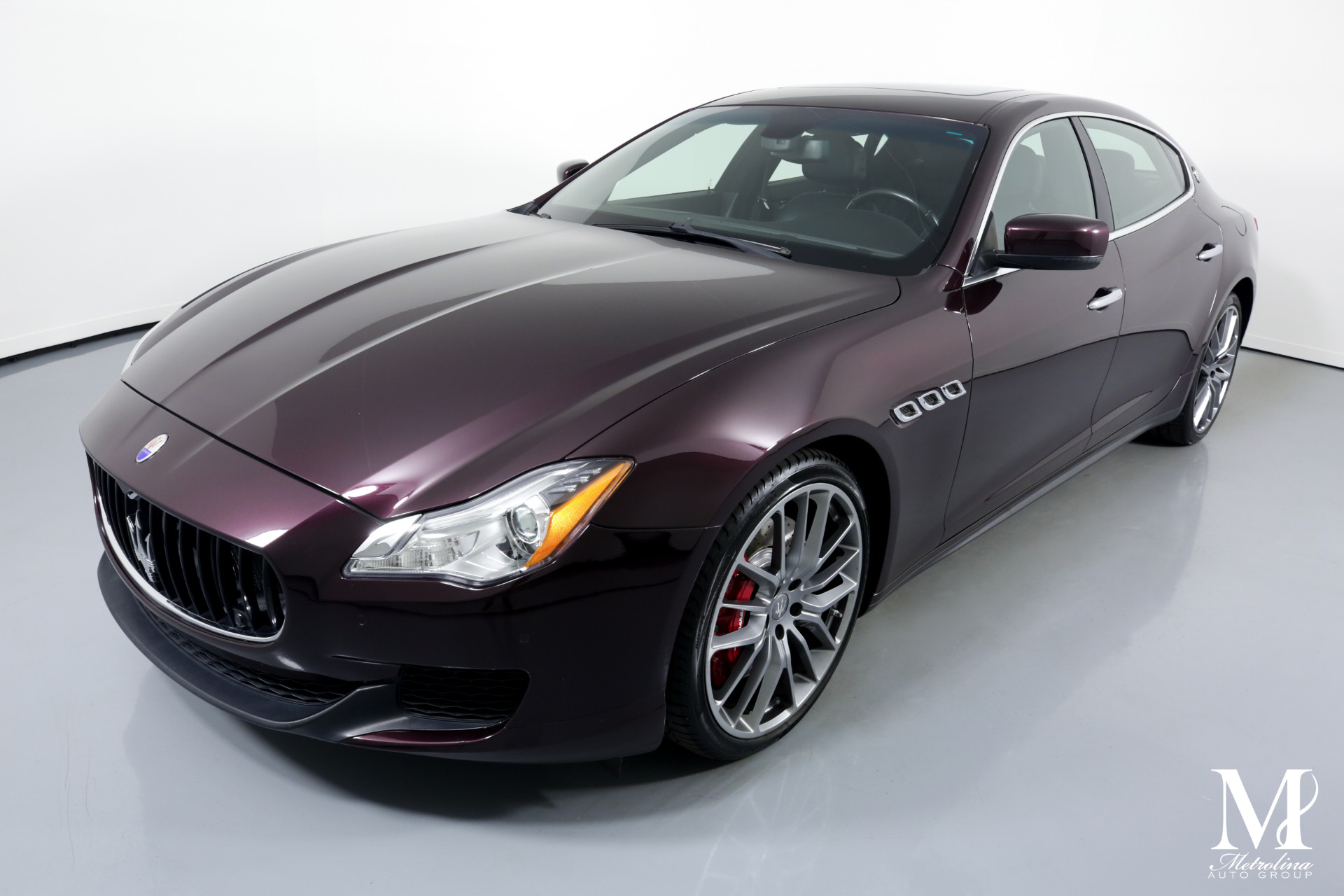 Used 2014 Maserati Quattroporte Sport GT S for sale $39,996 at Metrolina Auto Group in Charlotte NC 28217 - 4