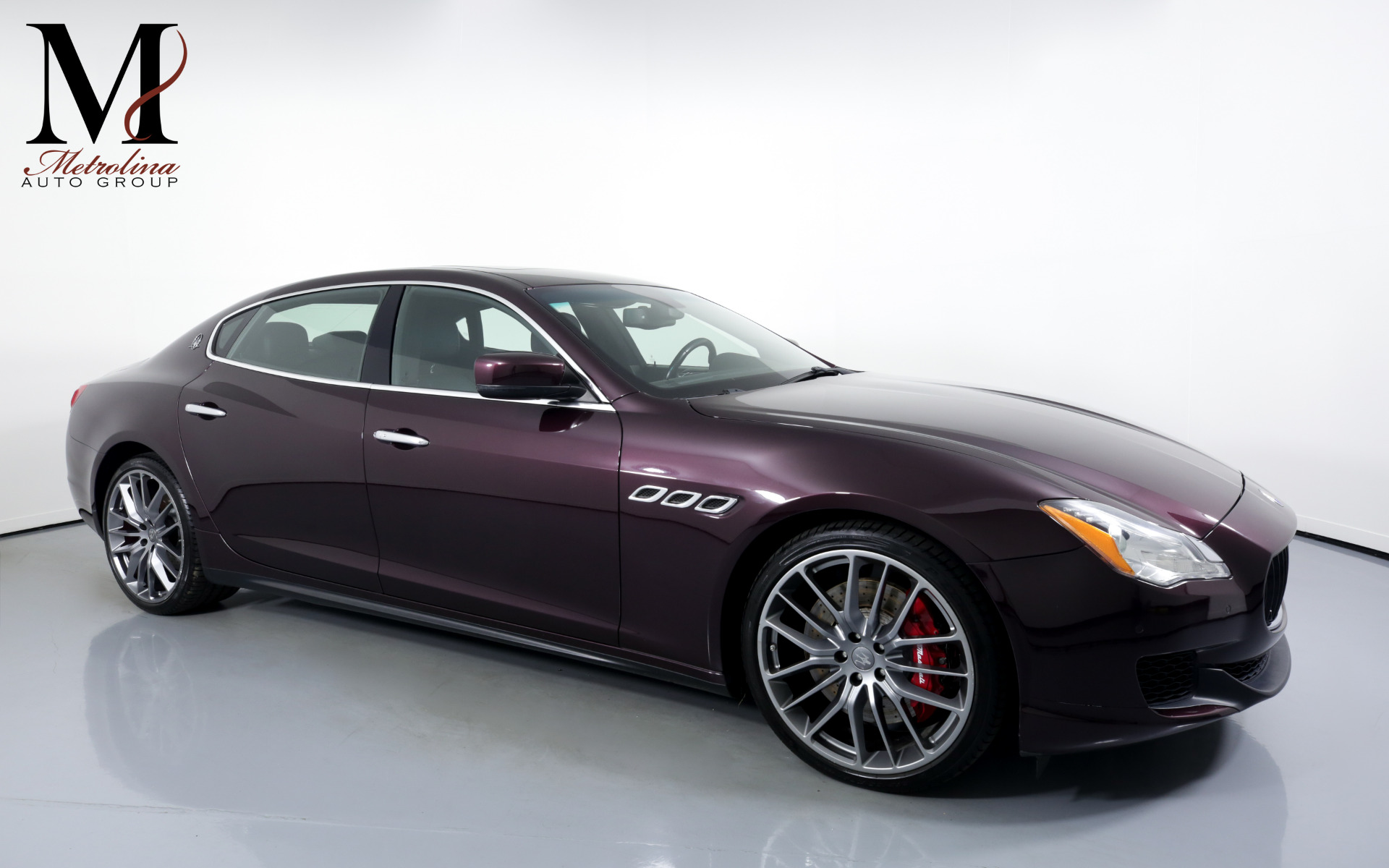 Used 2014 Maserati Quattroporte Sport GT S for sale $39,996 at Metrolina Auto Group in Charlotte NC 28217 - 1