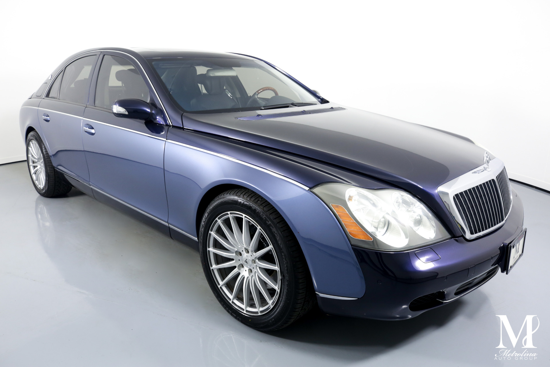 Used 2004 Maybach 57 for sale Sold at Metrolina Auto Group in Charlotte NC 28217 - 2
