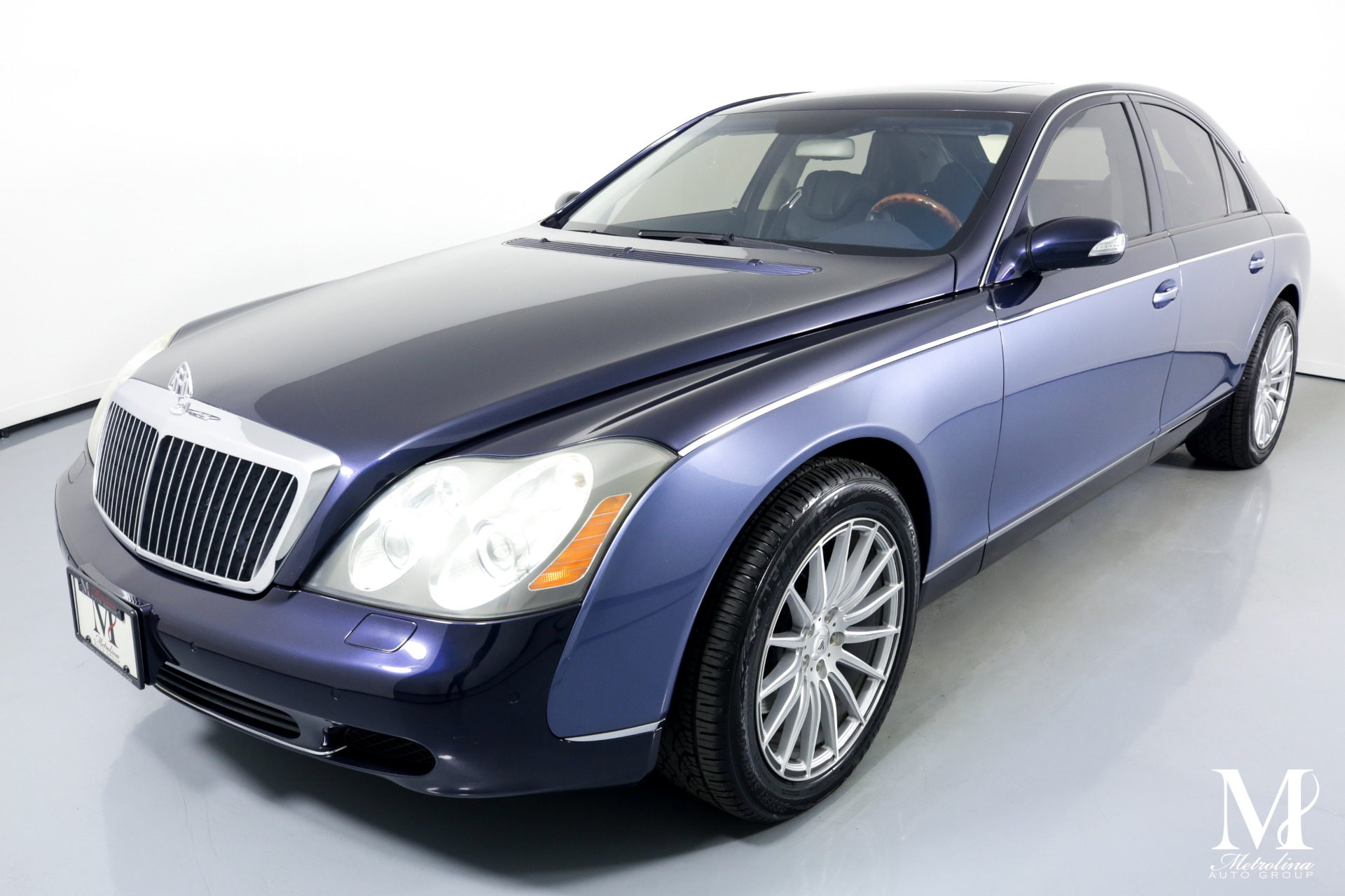Used 2004 Maybach 57 for sale Sold at Metrolina Auto Group in Charlotte NC 28217 - 4
