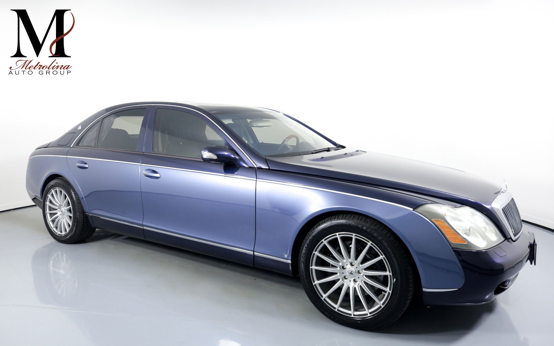 Used 2004 Maybach 57 for sale Sold at Metrolina Auto Group in Charlotte NC 28217 - 1