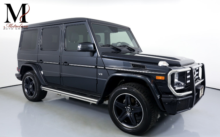 Used Used 2017 Mercedes-Benz G-Class G 550 for sale Call for price at Metrolina Auto Group in Charlotte NC