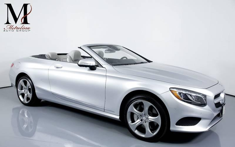 Used 2017 Mercedes-Benz S-Class S 550 2dr Convertible for sale Sold at Metrolina Auto Group in Charlotte NC 28217 - 1