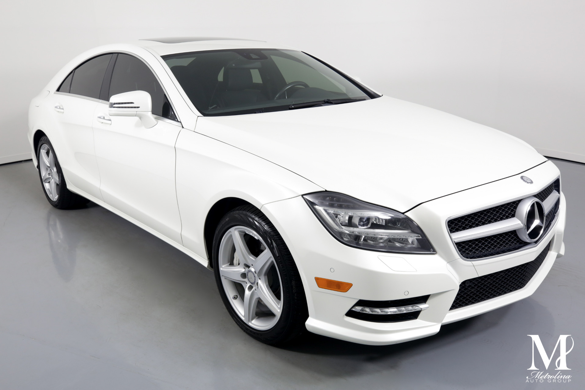 Used 2014 Mercedes-Benz CLS CLS 550 for sale Sold at Metrolina Auto Group in Charlotte NC 28217 - 2