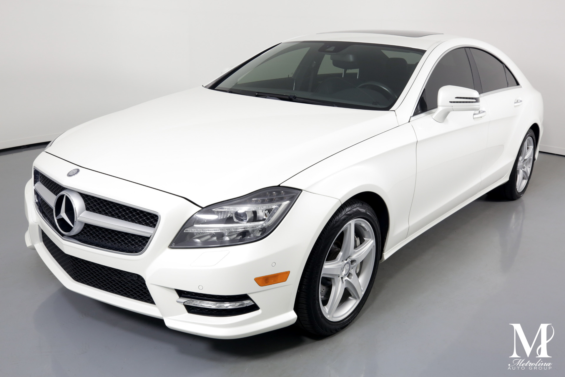 Used 2014 Mercedes-Benz CLS CLS 550 for sale Sold at Metrolina Auto Group in Charlotte NC 28217 - 4