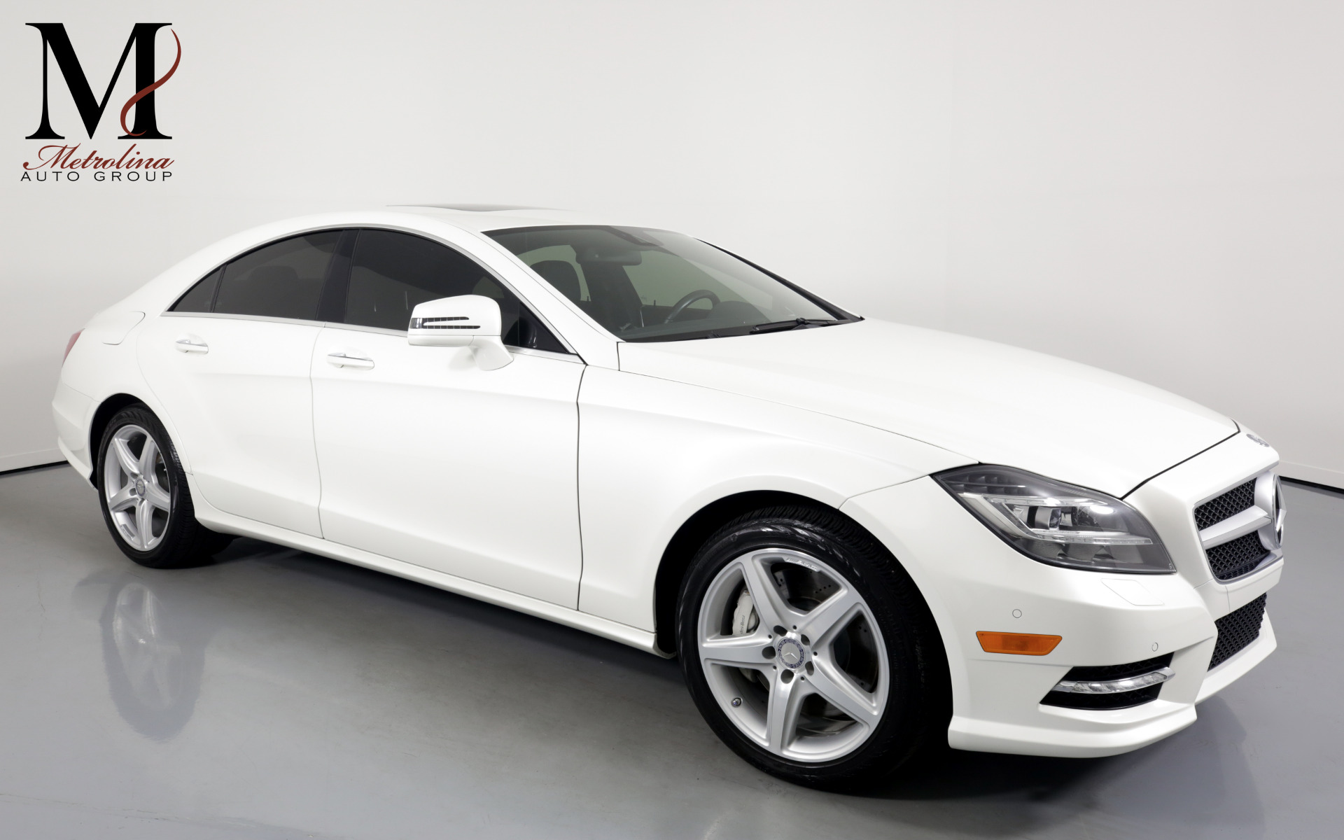 Used 2014 Mercedes-Benz CLS CLS 550 for sale Sold at Metrolina Auto Group in Charlotte NC 28217 - 1
