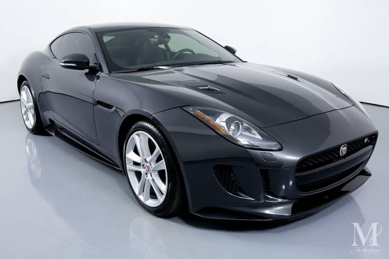 Used 2016 Jaguar F-TYPE S AWD 2dr Coupe for sale Sold at Metrolina Auto Group in Charlotte NC 28217 - 2