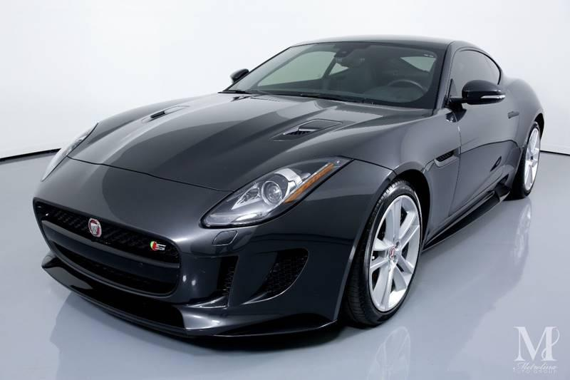 Used 2016 Jaguar F-TYPE S AWD 2dr Coupe for sale Sold at Metrolina Auto Group in Charlotte NC 28217 - 4