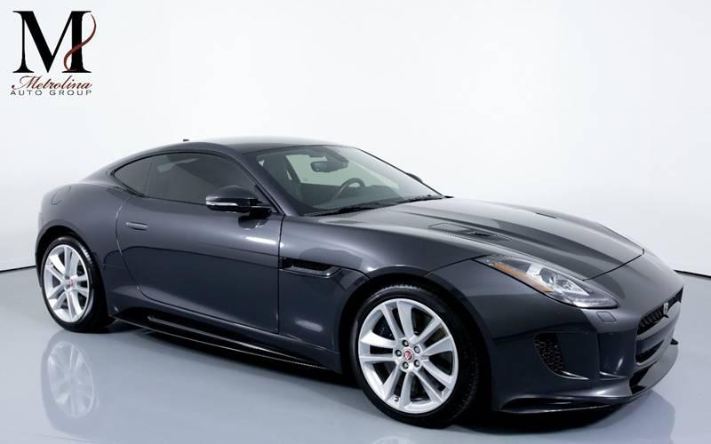 Used 2016 Jaguar F-TYPE S AWD 2dr Coupe for sale Sold at Metrolina Auto Group in Charlotte NC 28217 - 1