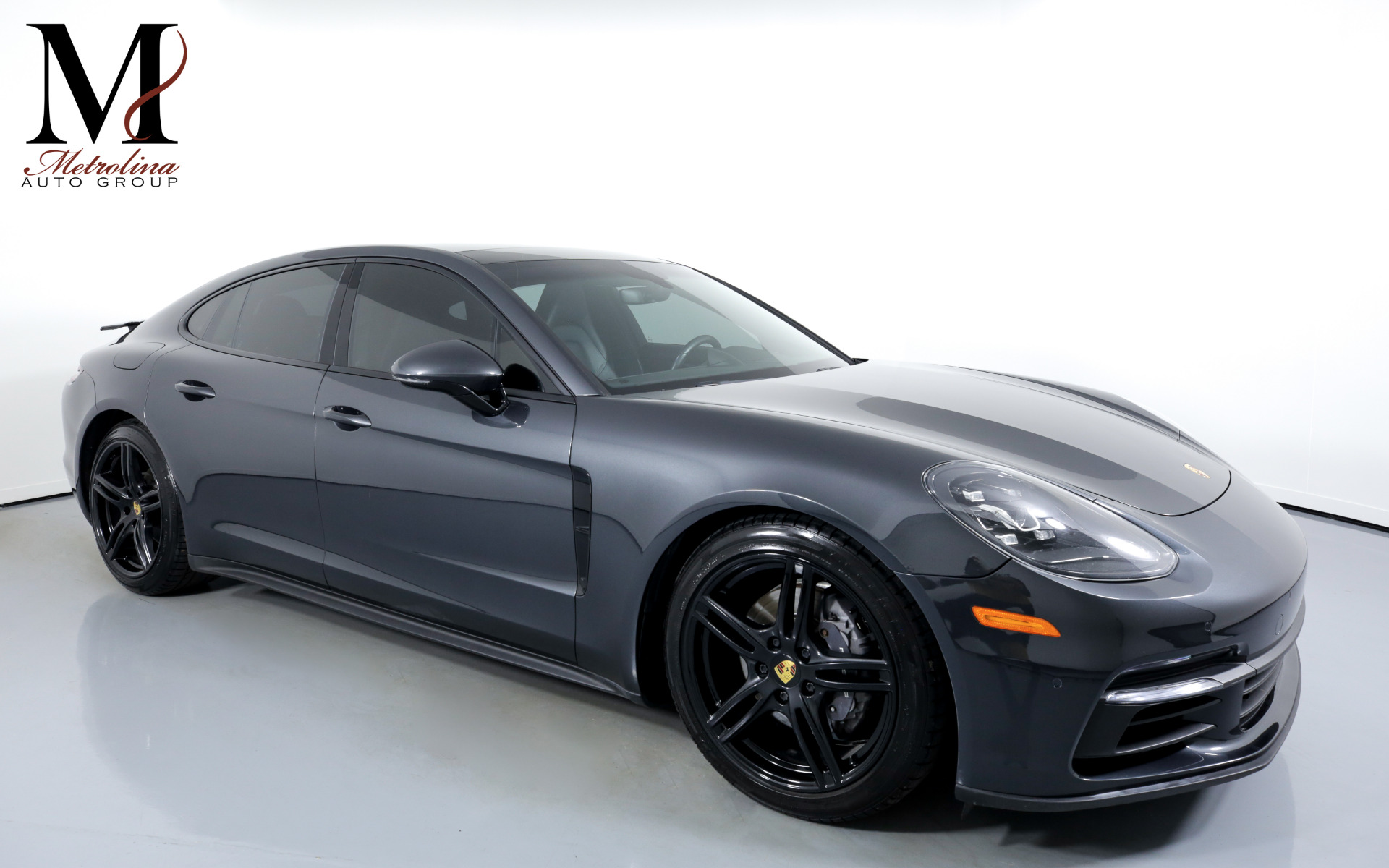 Used 2017 Porsche Panamera for sale $66,996 at Metrolina Auto Group in Charlotte NC 28217 - 1