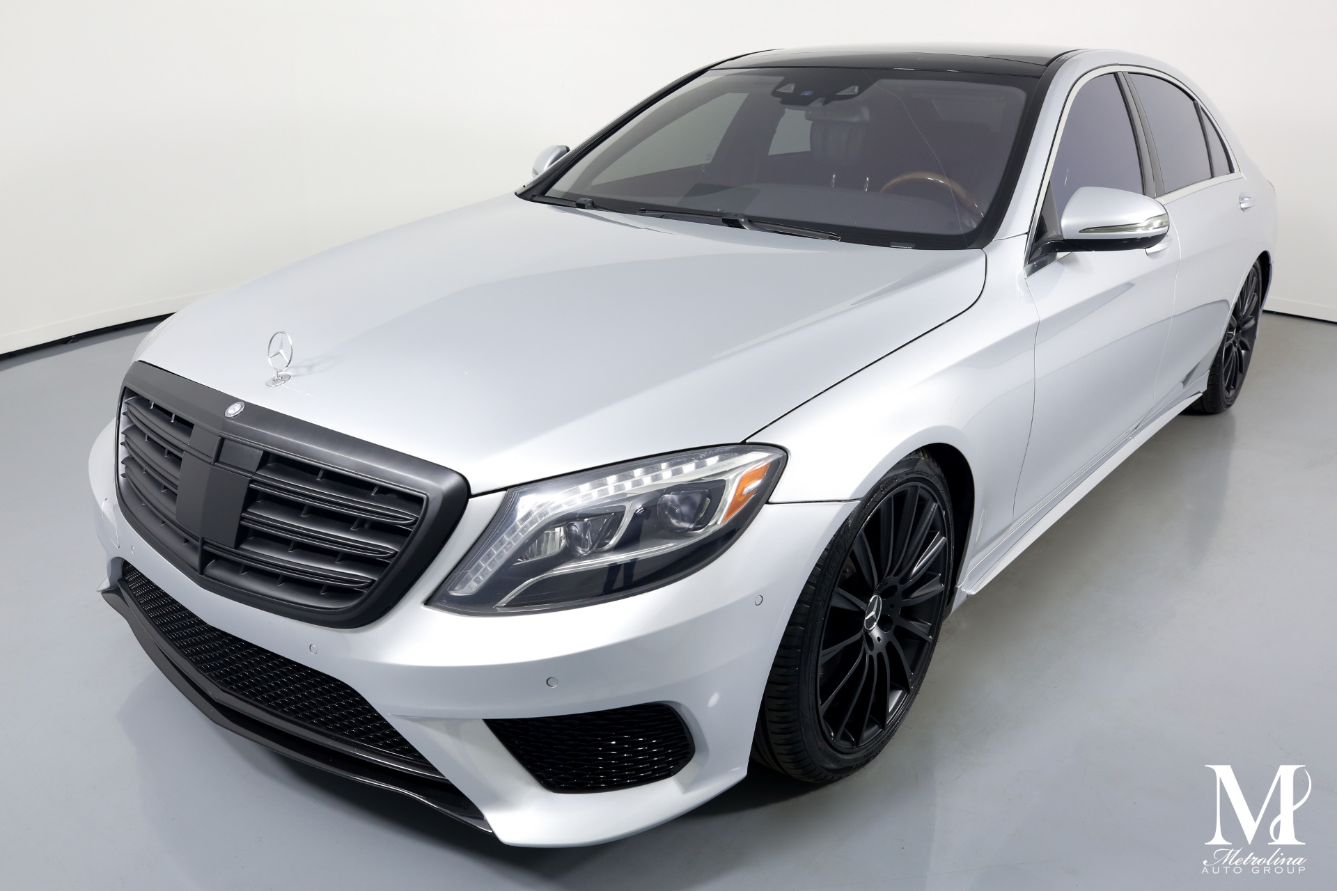 Used 2014 Mercedes-Benz S-Class S 550 for sale $39,996 at Metrolina Auto Group in Charlotte NC 28217 - 4