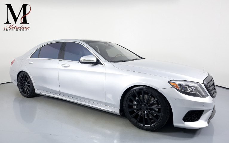 Used Used 2014 Mercedes-Benz S-Class S 550 for sale $42,456 at Metrolina Auto Group in Charlotte NC