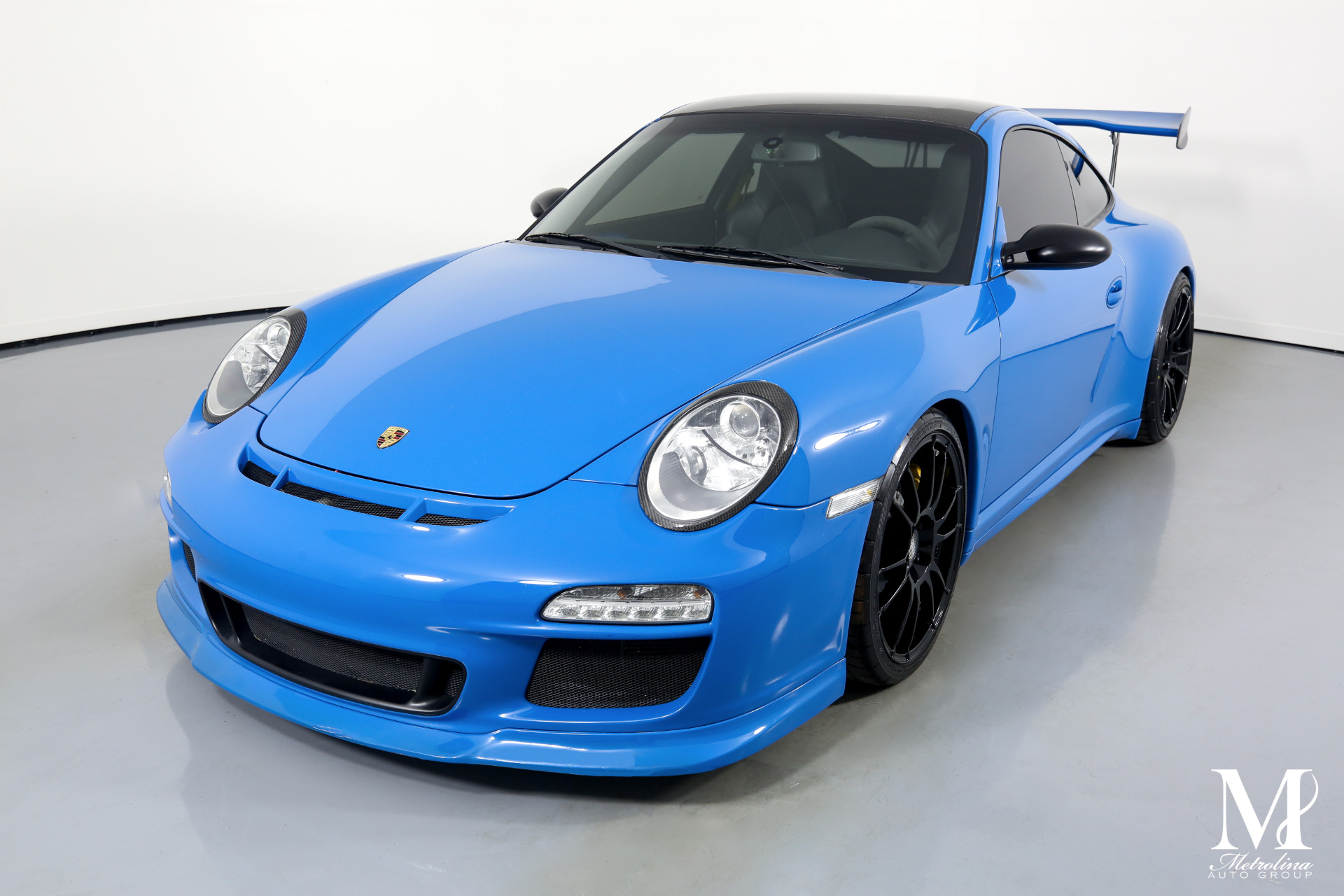 Used 2007 Porsche 911 GT3 for sale $99,996 at Metrolina Auto Group in Charlotte NC 28217 - 4