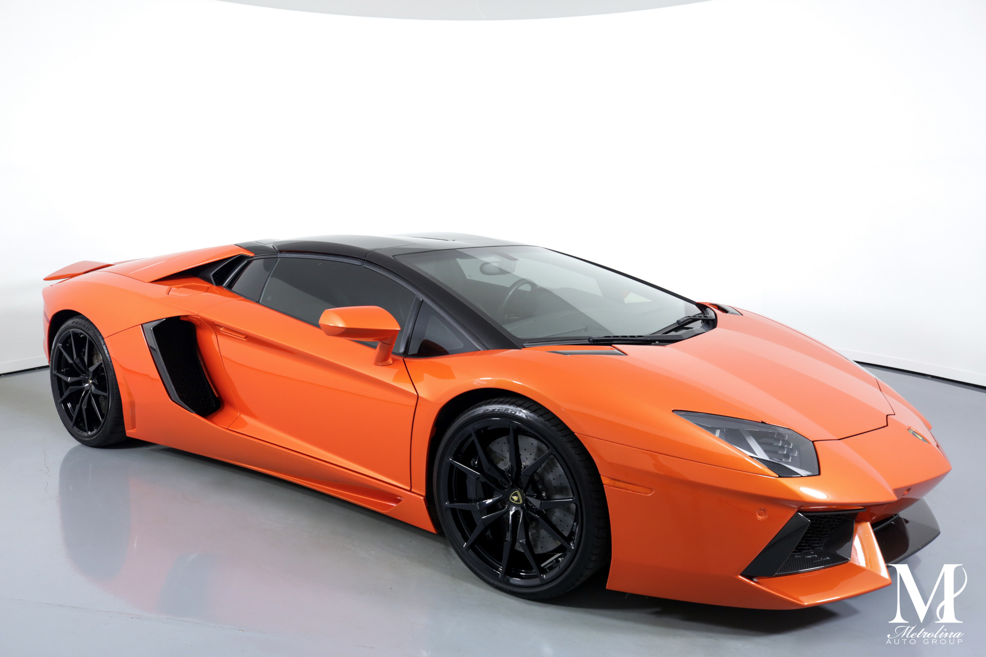 Used 2015 Lamborghini Aventador LP 700-4 for sale $399,996 at Metrolina Auto Group in Charlotte NC 28217 - 2