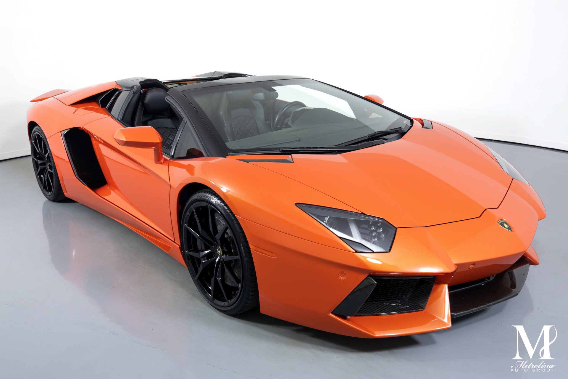 Used 2015 Lamborghini Aventador LP 700-4 for sale $399,996 at Metrolina Auto Group in Charlotte NC 28217 - 3