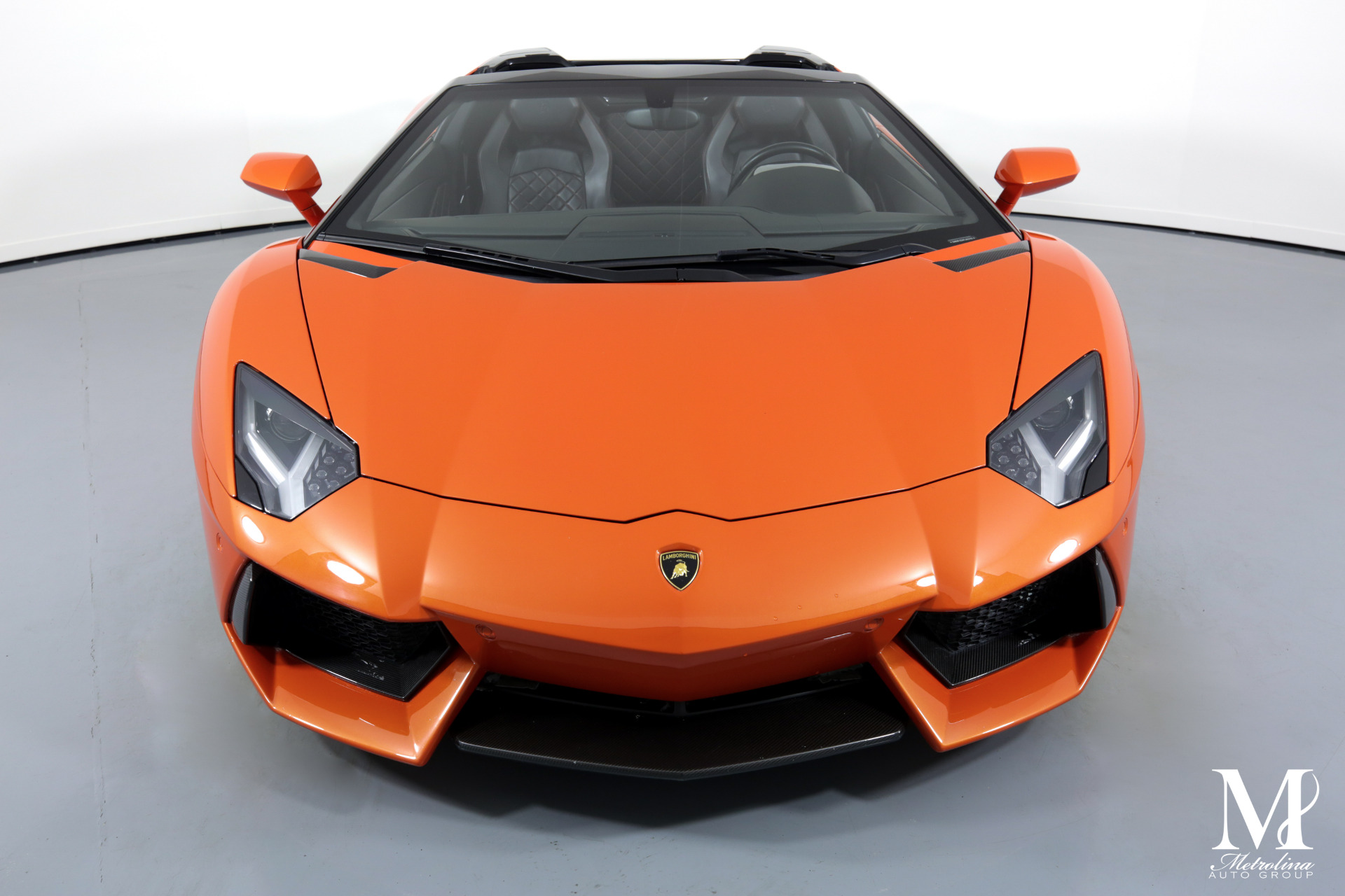 Used 2015 Lamborghini Aventador LP 700-4 for sale $399,996 at Metrolina Auto Group in Charlotte NC 28217 - 4