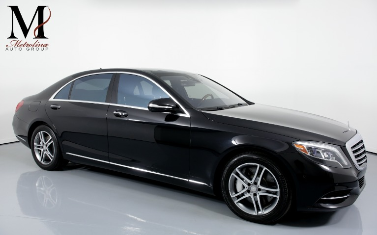 Used Used 2016 Mercedes-Benz S-Class S 550 4dr Sedan for sale $47,996 at Metrolina Auto Group in Charlotte NC