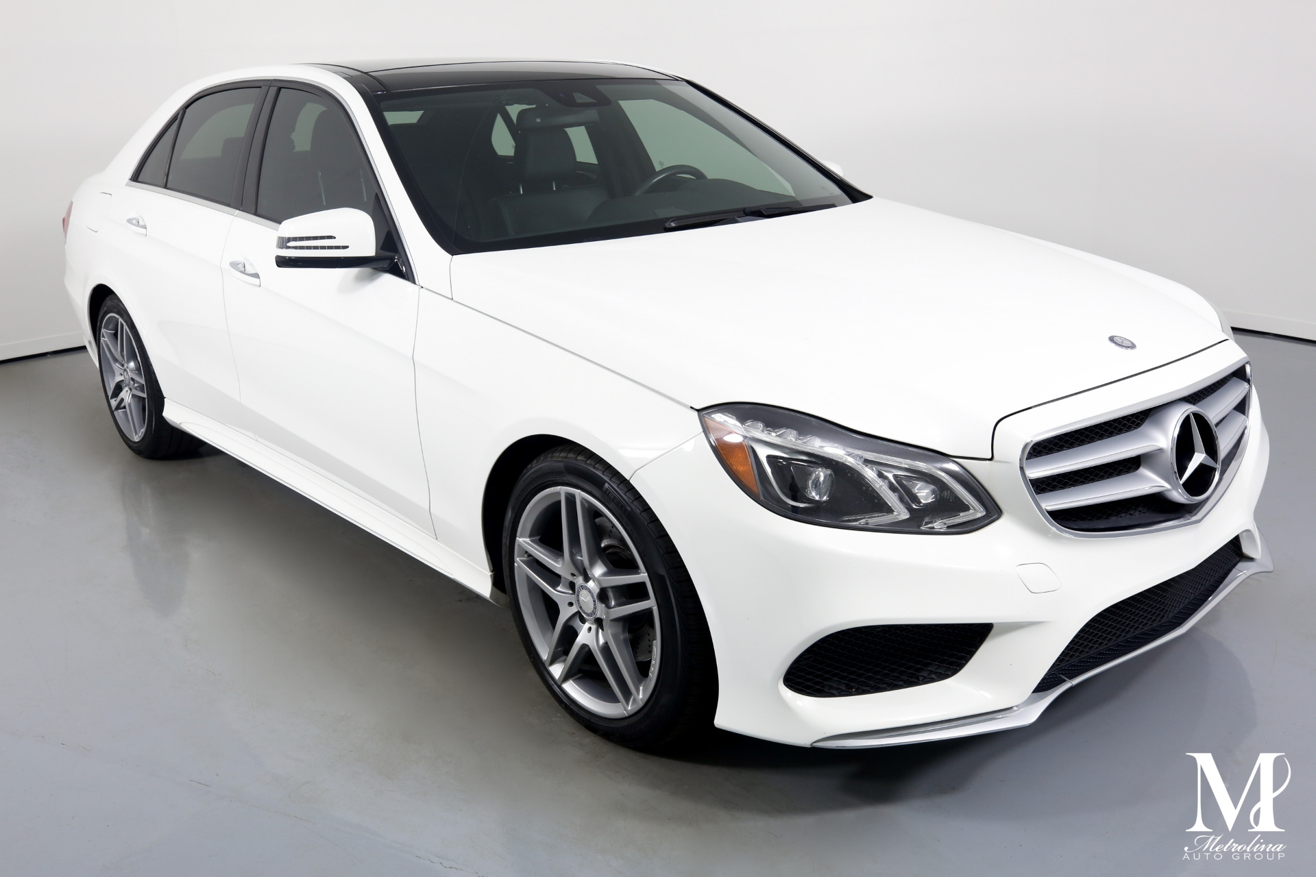 Used 2014 Mercedes-Benz E-Class E 350 Sport 4MATIC for sale $17,996 at Metrolina Auto Group in Charlotte NC 28217 - 2
