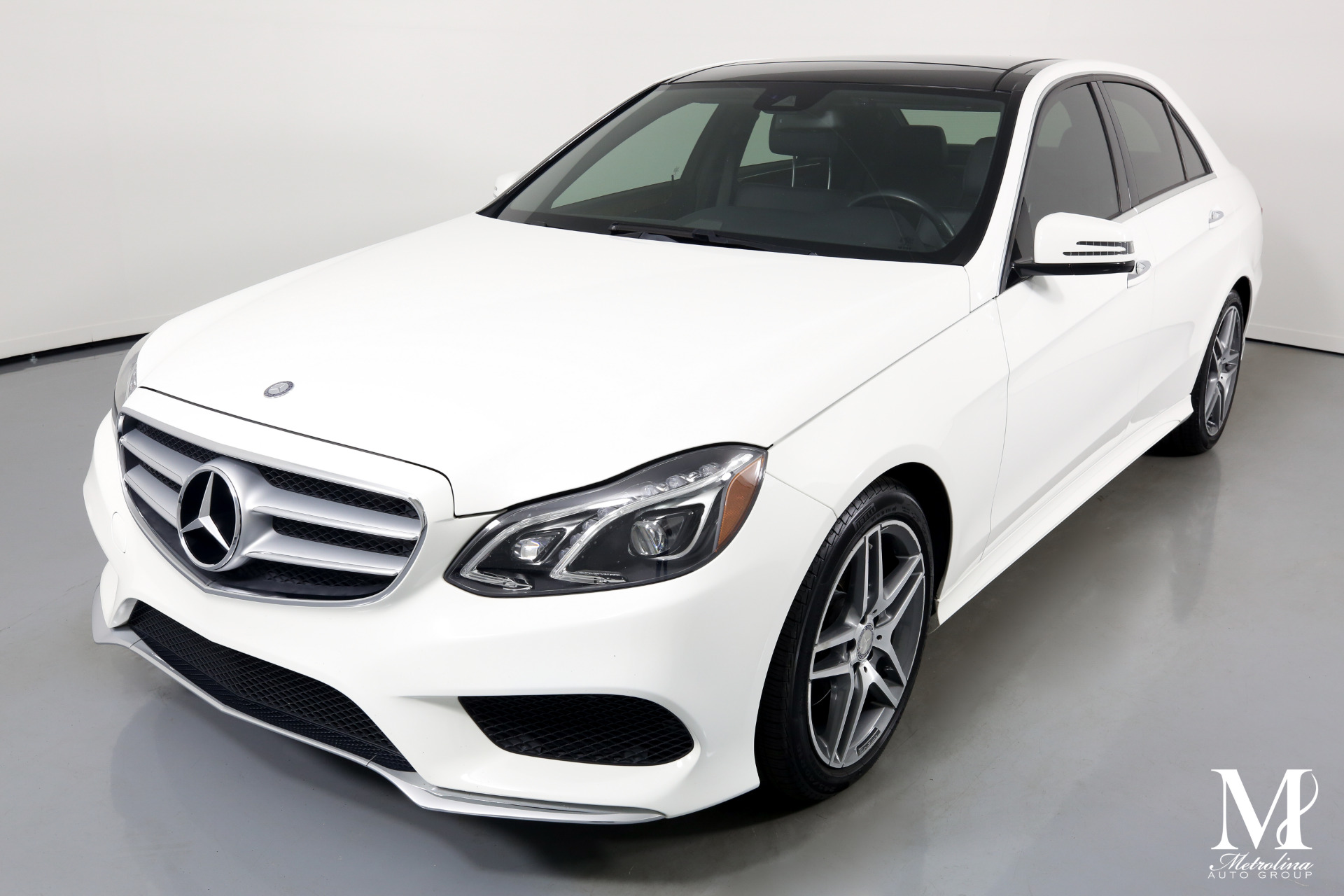 Used 2014 Mercedes-Benz E-Class E 350 Sport 4MATIC for sale $17,996 at Metrolina Auto Group in Charlotte NC 28217 - 4