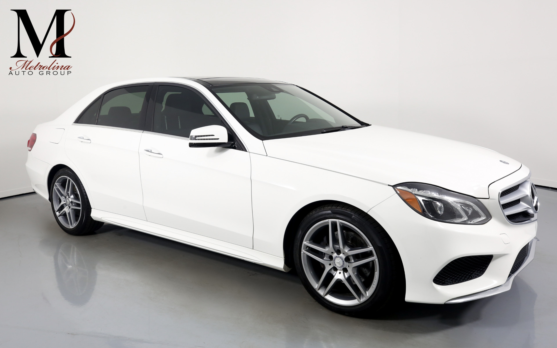 Used 2014 Mercedes-Benz E-Class E 350 Sport 4MATIC for sale $17,996 at Metrolina Auto Group in Charlotte NC 28217 - 1