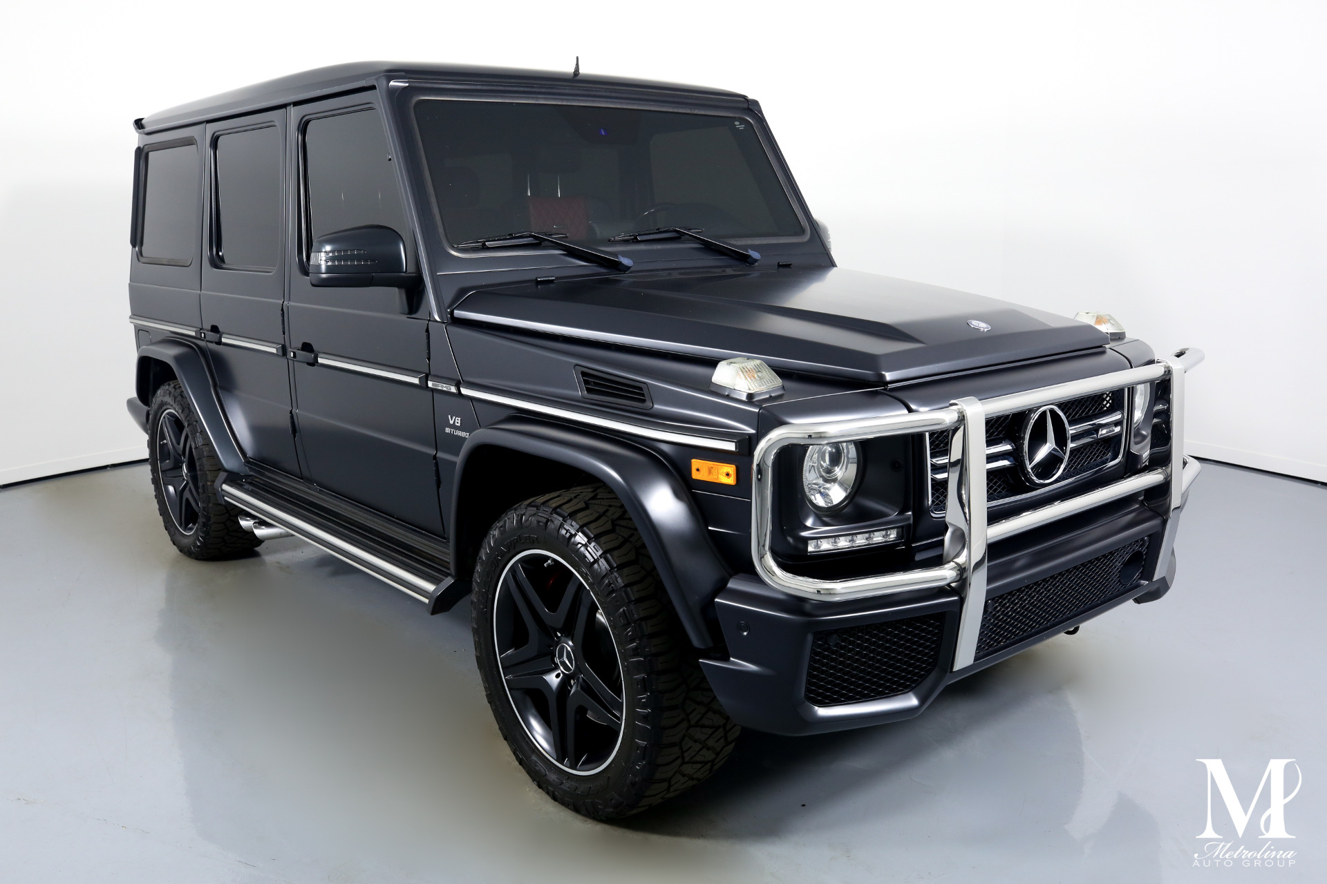 Used 2016 Mercedes-Benz G-Class AMG G 63 for sale Sold at Metrolina Auto Group in Charlotte NC 28217 - 2