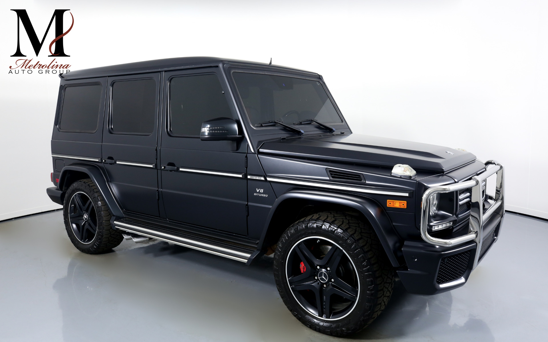 Used 2016 Mercedes-Benz G-Class AMG G 63 for sale Sold at Metrolina Auto Group in Charlotte NC 28217 - 1