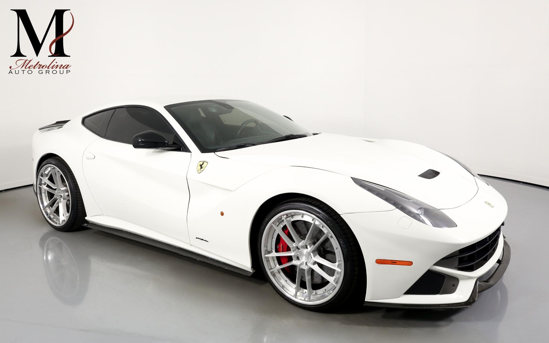 Used 2013 Ferrari F12berlinetta for sale $194,996 at Metrolina Auto Group in Charlotte NC 28217 - 1