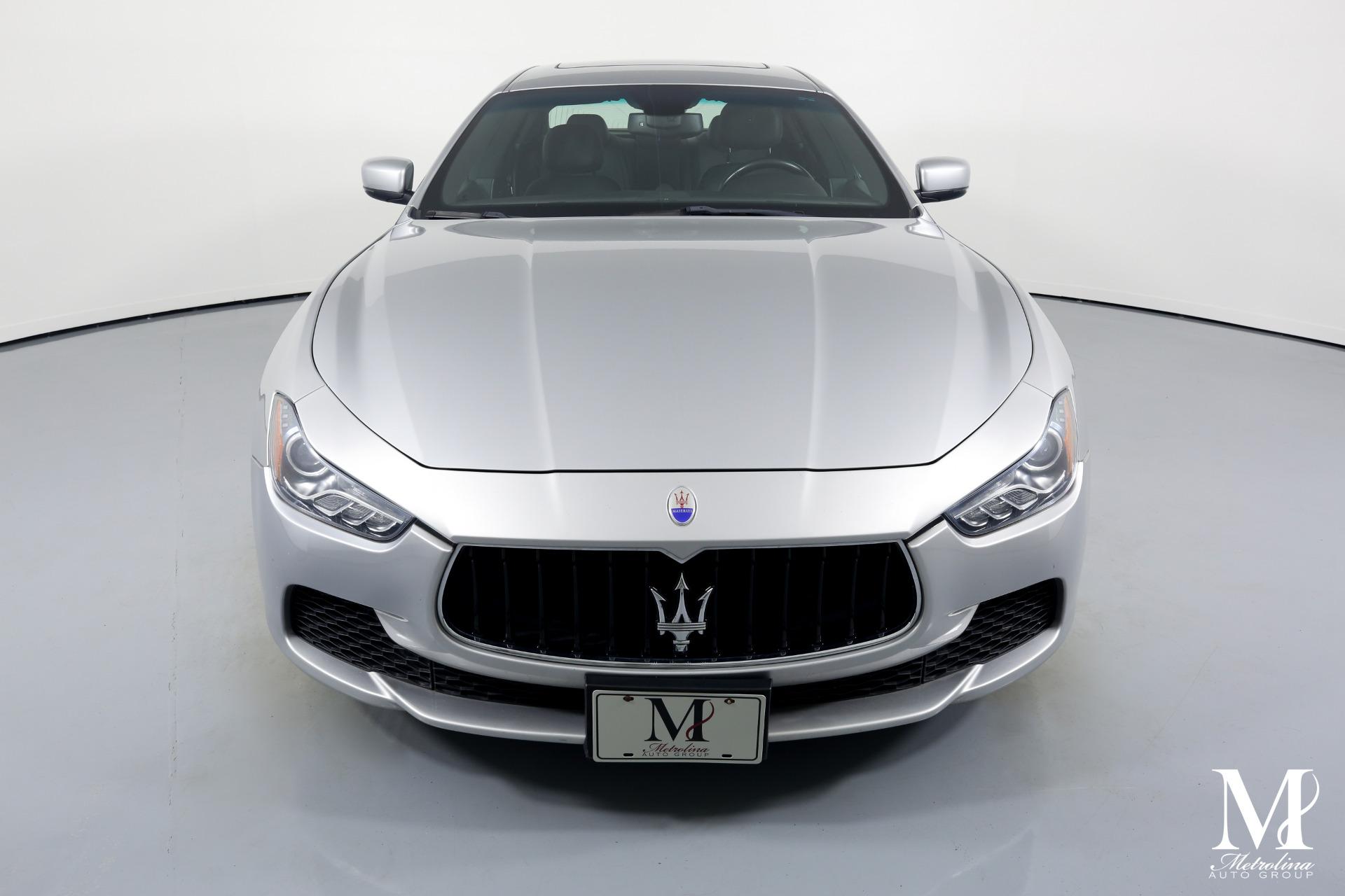 Used 2014 Maserati Ghibli for sale $25,996 at Metrolina Auto Group in Charlotte NC 28217 - 3