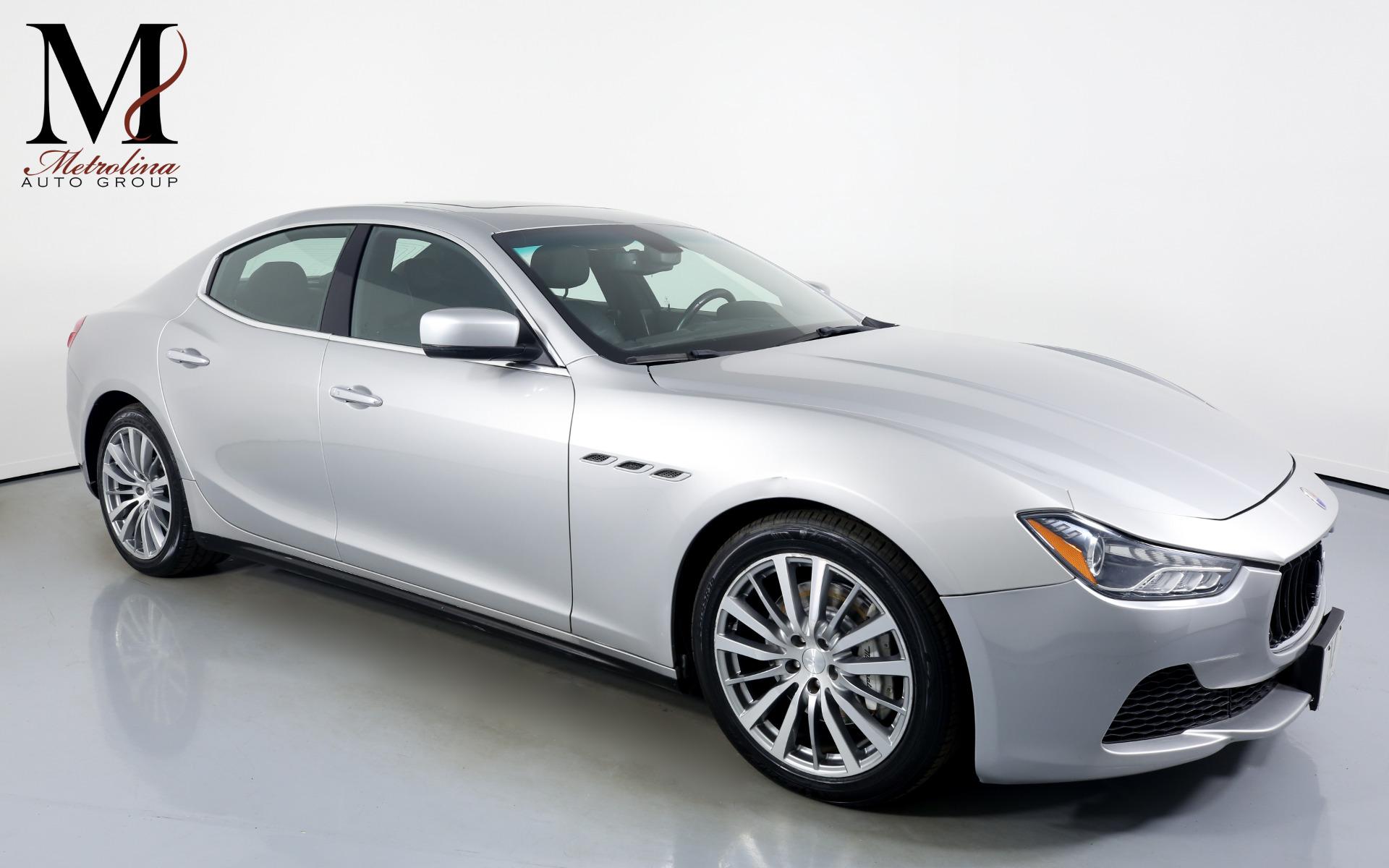Used 2014 Maserati Ghibli for sale $25,996 at Metrolina Auto Group in Charlotte NC 28217 - 1
