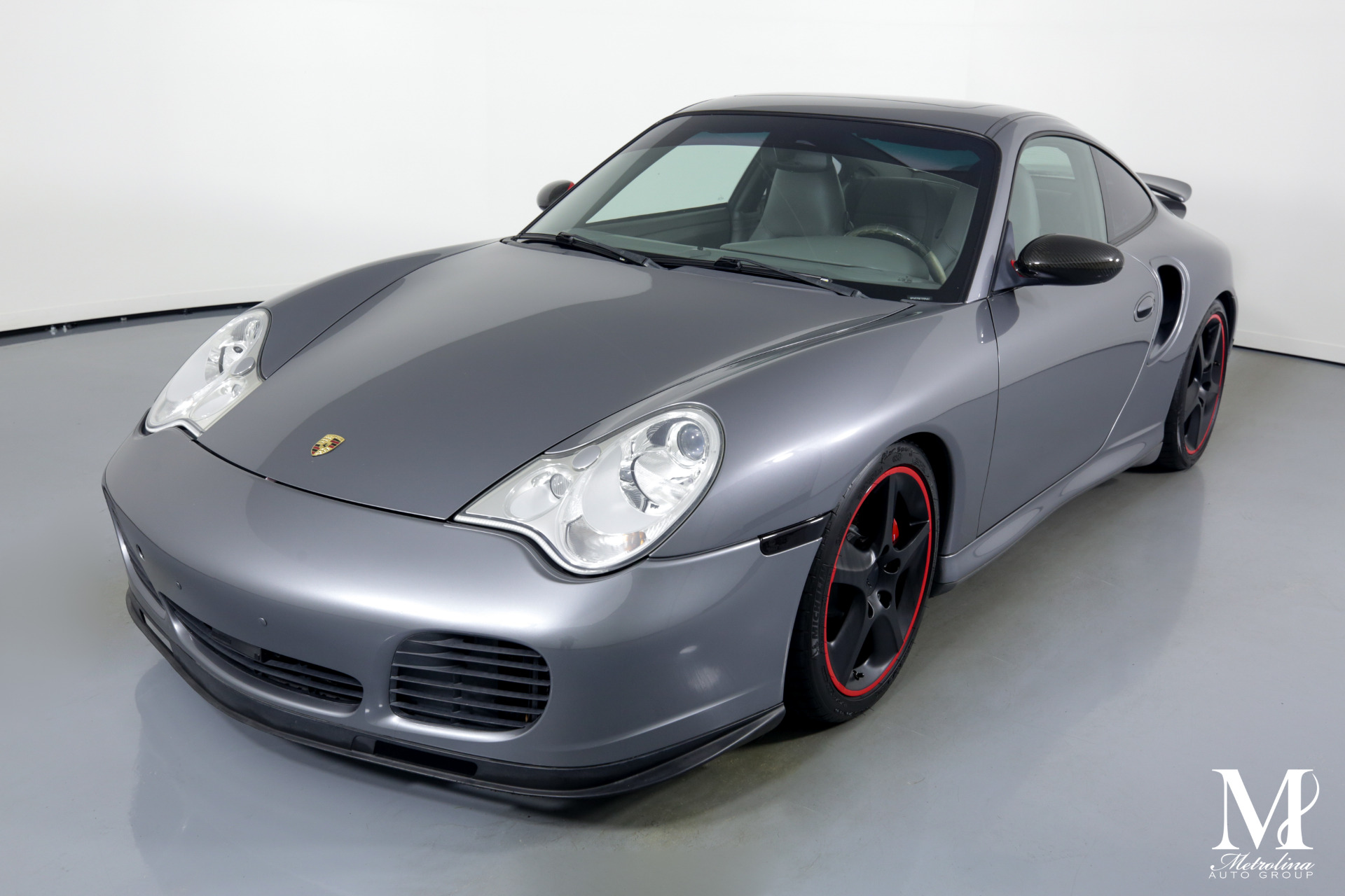 Used 2003 Porsche 911 Turbo for sale $49,996 at Metrolina Auto Group in Charlotte NC 28217 - 4
