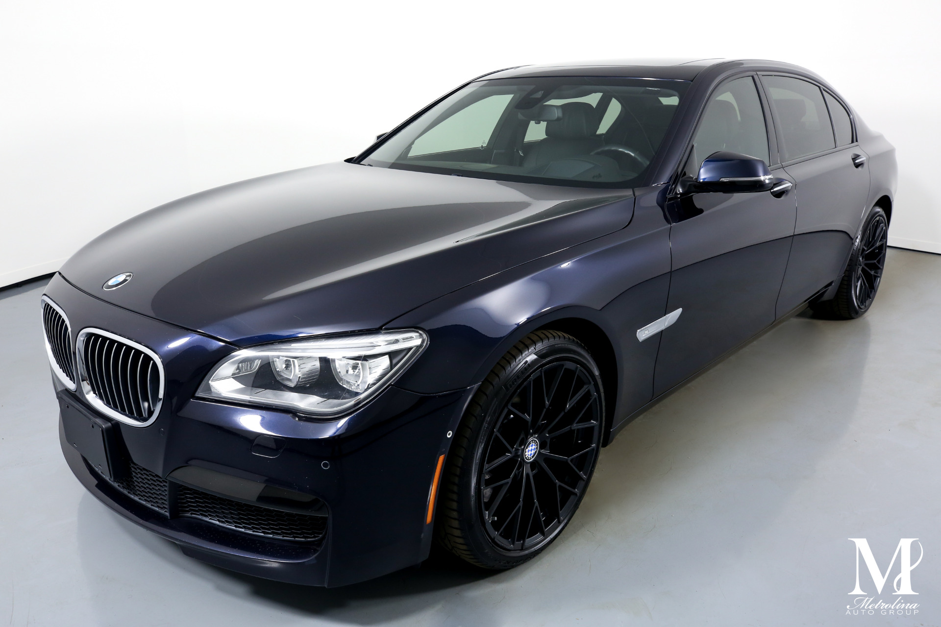 Used 2013 BMW 7 Series 750Li for sale Sold at Metrolina Auto Group in Charlotte NC 28217 - 4