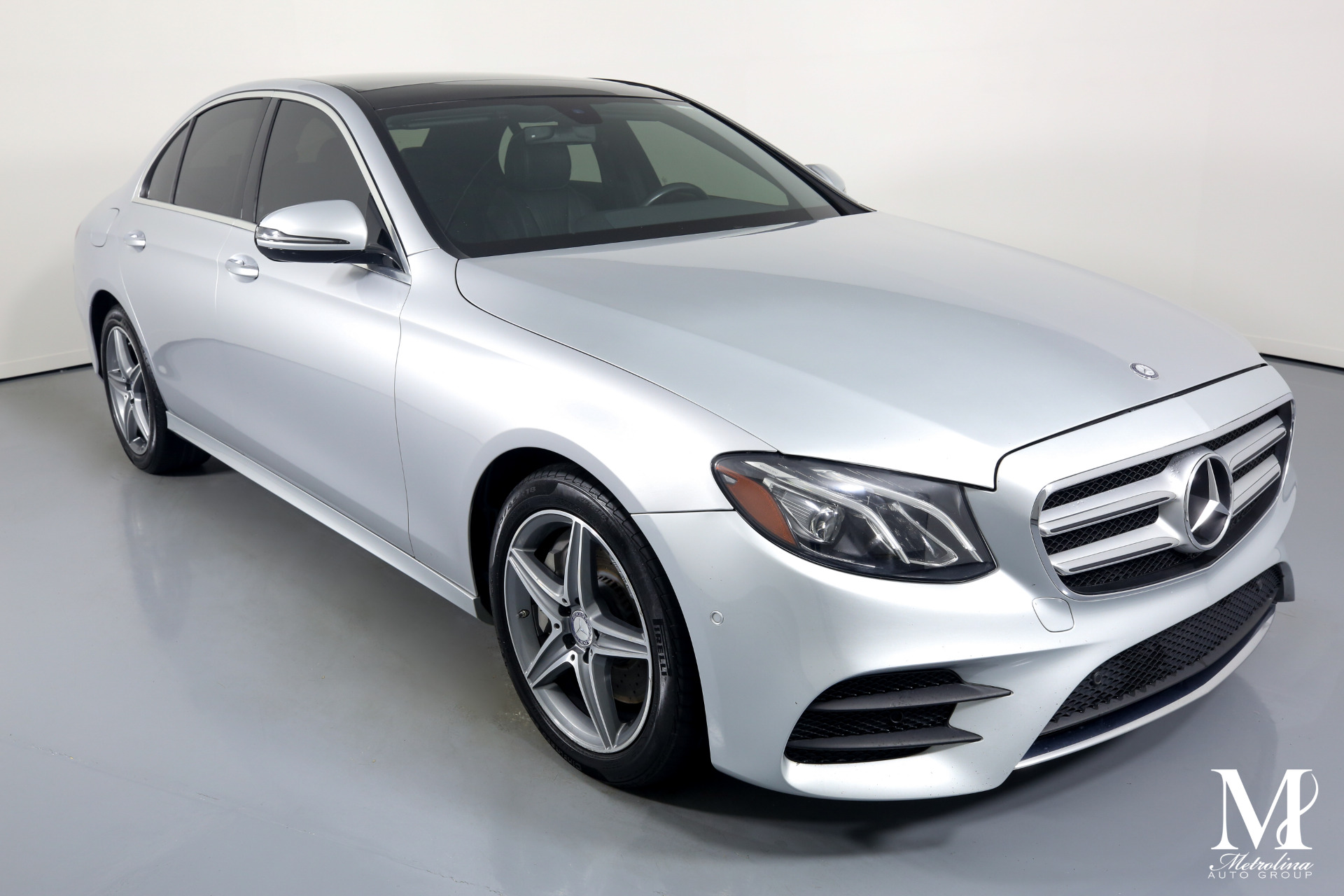 Used 2017 Mercedes-Benz E-Class E 300 4MATIC for sale $31,996 at Metrolina Auto Group in Charlotte NC 28217 - 2