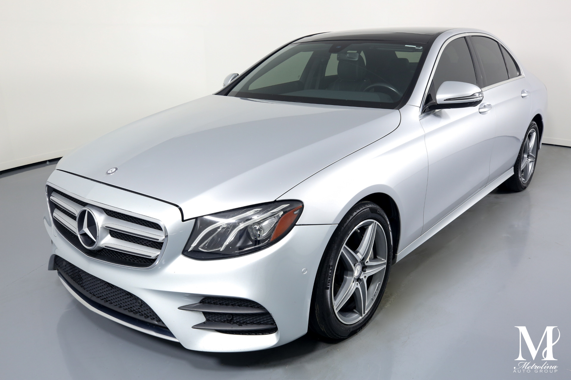 Used 2017 Mercedes-Benz E-Class E 300 4MATIC for sale $31,996 at Metrolina Auto Group in Charlotte NC 28217 - 4
