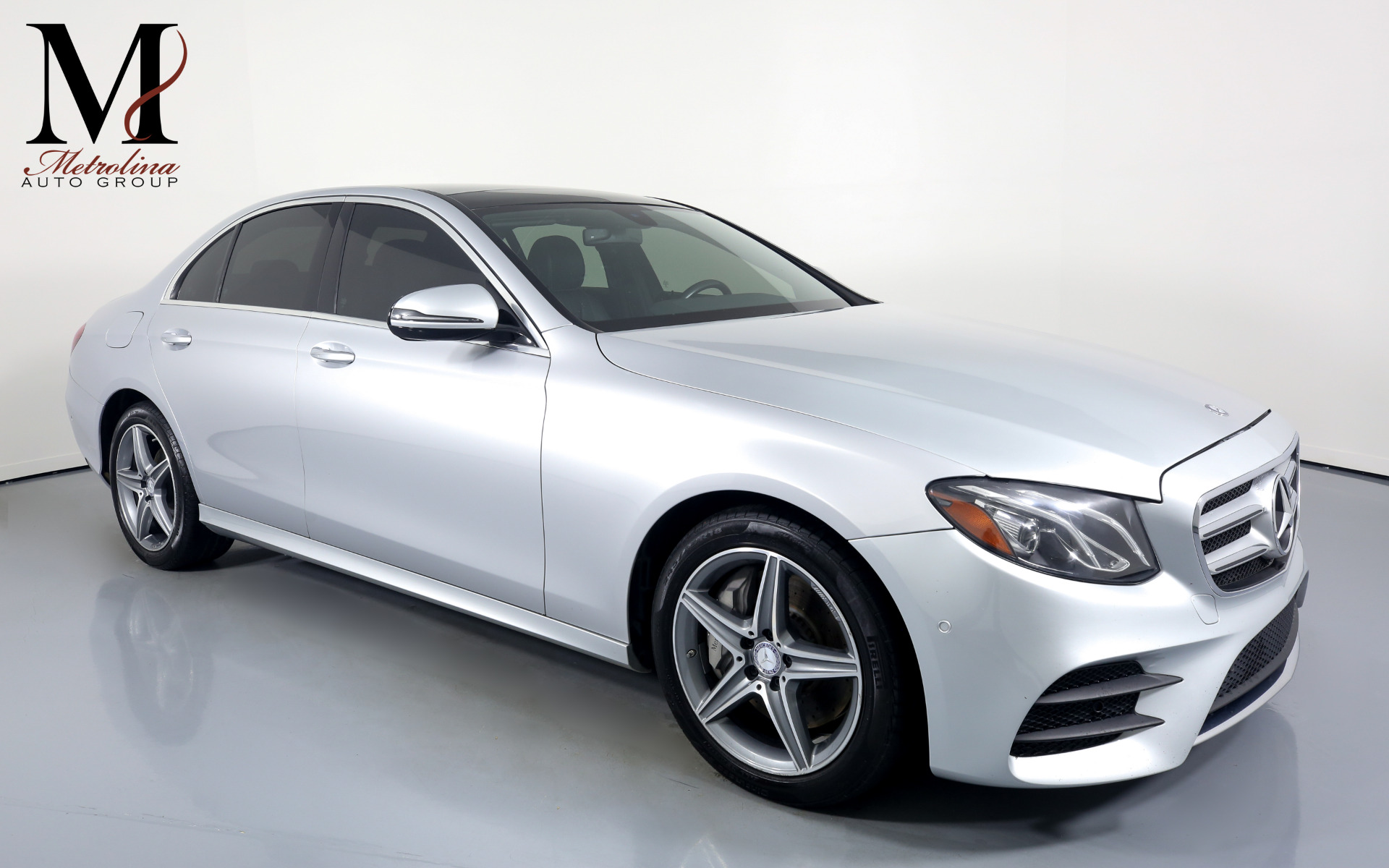 Used 2017 Mercedes-Benz E-Class E 300 4MATIC for sale $31,996 at Metrolina Auto Group in Charlotte NC 28217 - 1