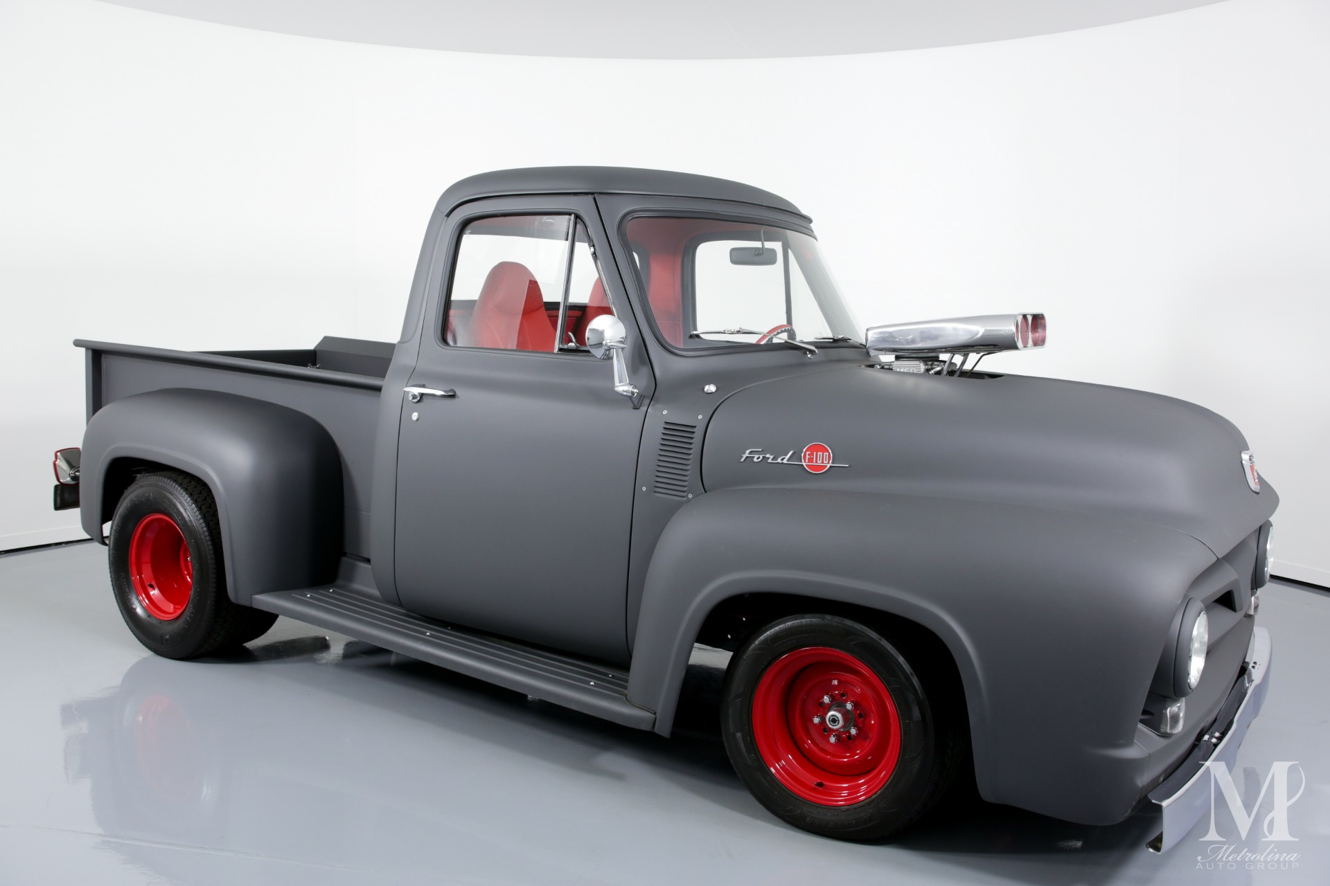 Used 1955 Ford F-100 for sale $99,996 at Metrolina Auto Group in Charlotte NC 28217 - 2