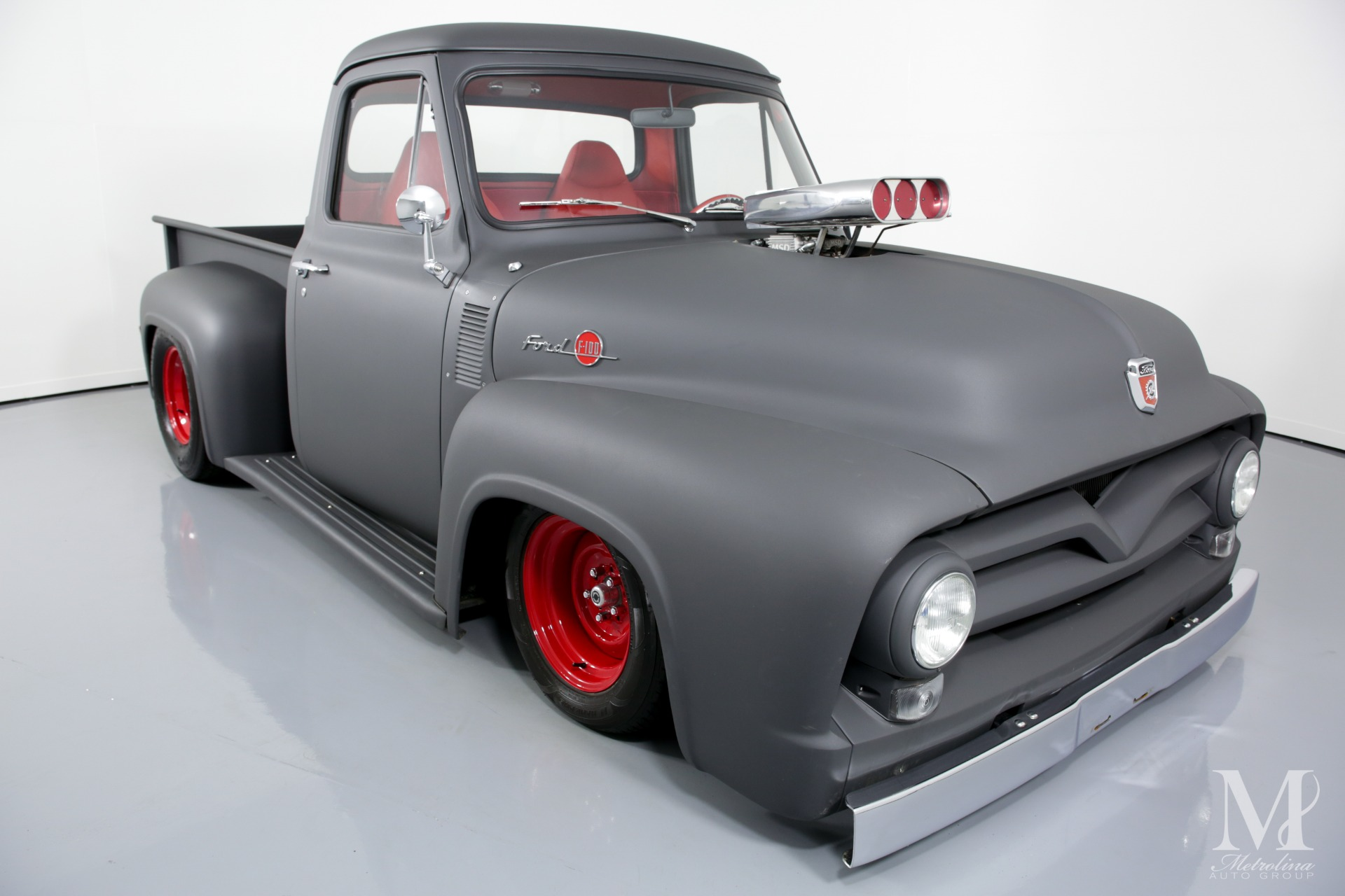 Used 1955 Ford F-100 for sale $99,996 at Metrolina Auto Group in Charlotte NC 28217 - 3