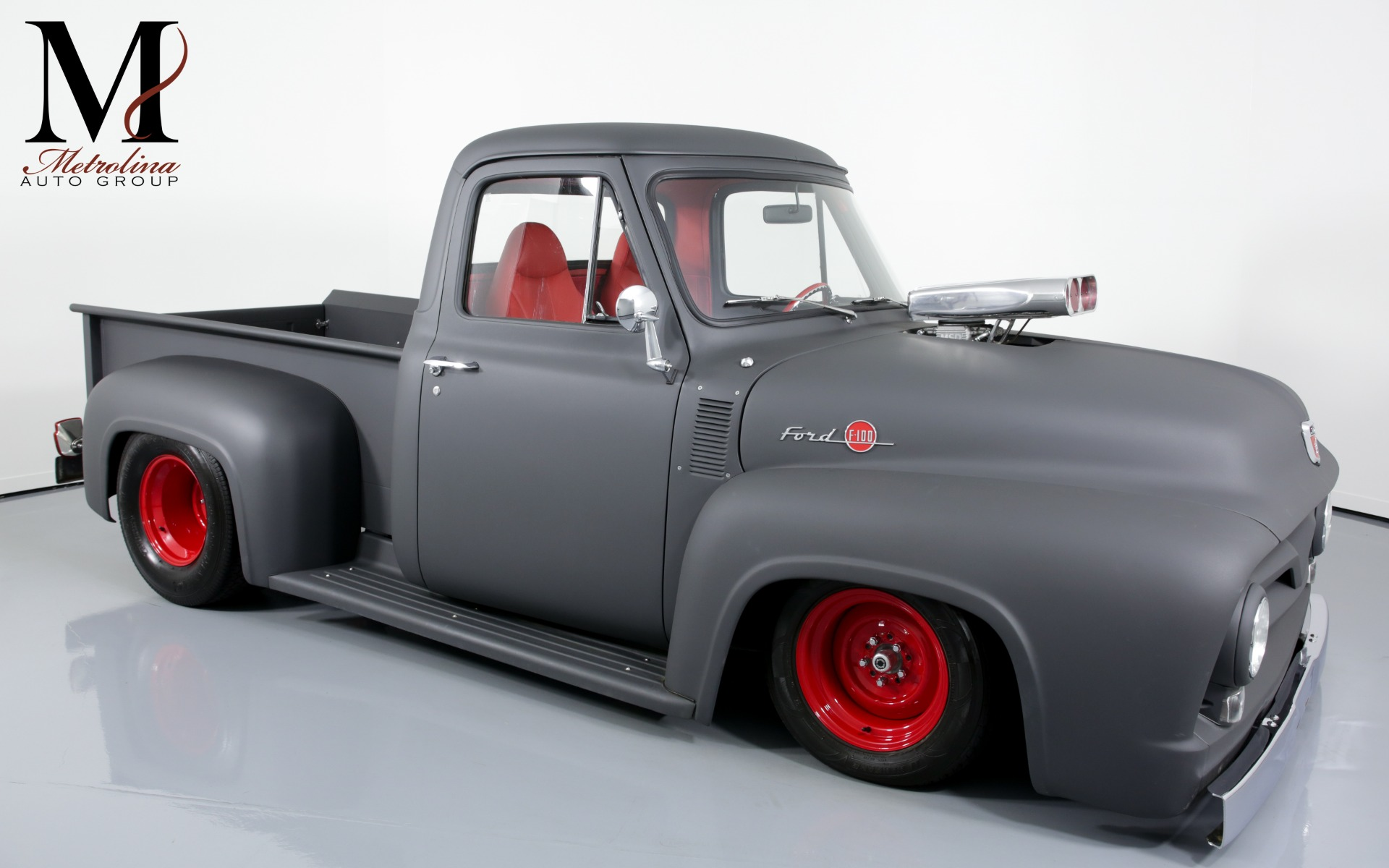 Used 1955 Ford F-100 for sale $99,996 at Metrolina Auto Group in Charlotte NC 28217 - 1