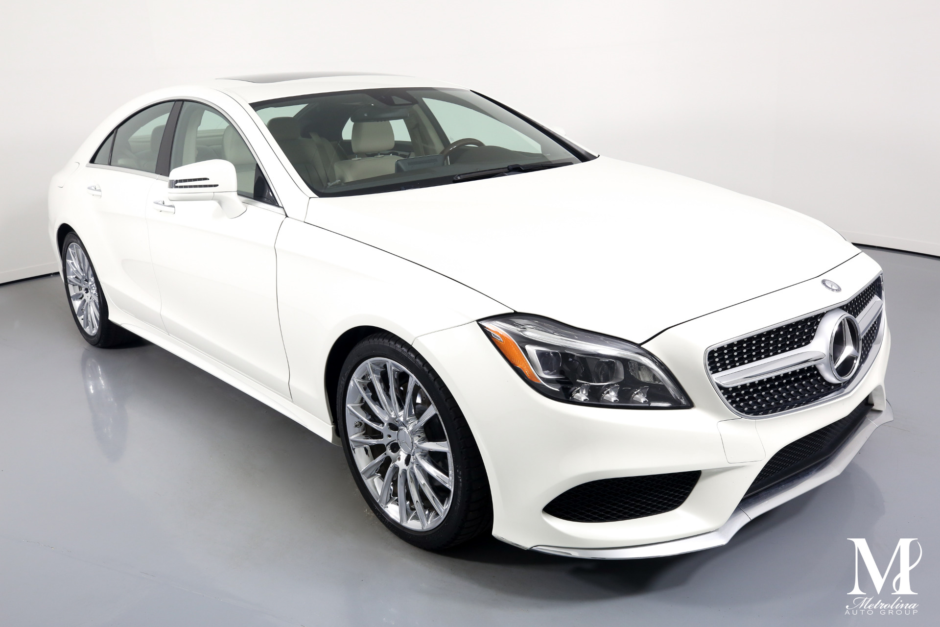 Used 2016 Mercedes-Benz CLS CLS 400 for sale $33,996 at Metrolina Auto Group in Charlotte NC 28217 - 2