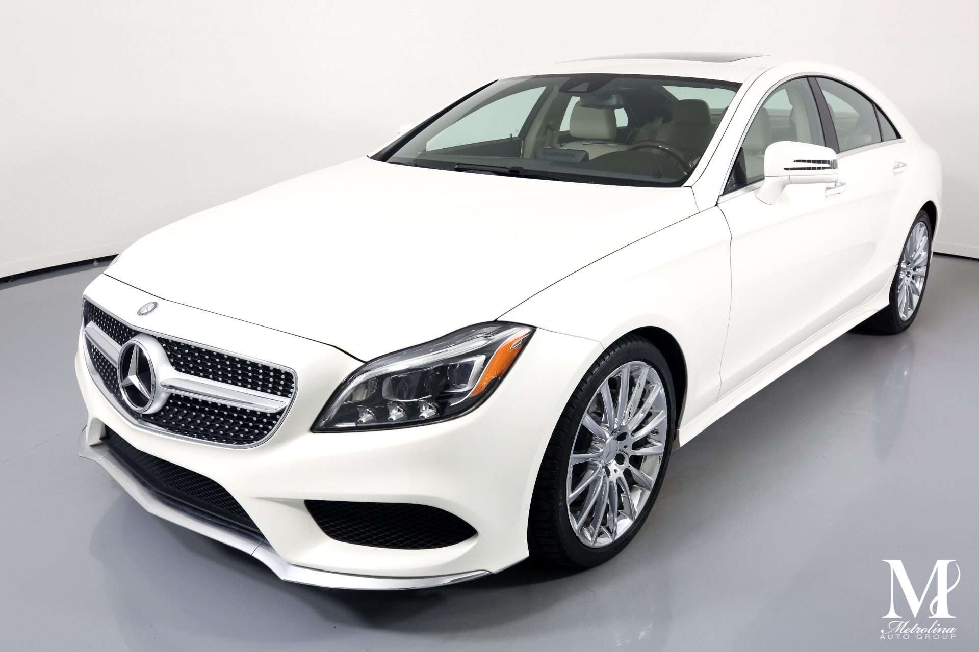 Used 2016 Mercedes-Benz CLS CLS 400 for sale $33,996 at Metrolina Auto Group in Charlotte NC 28217 - 4
