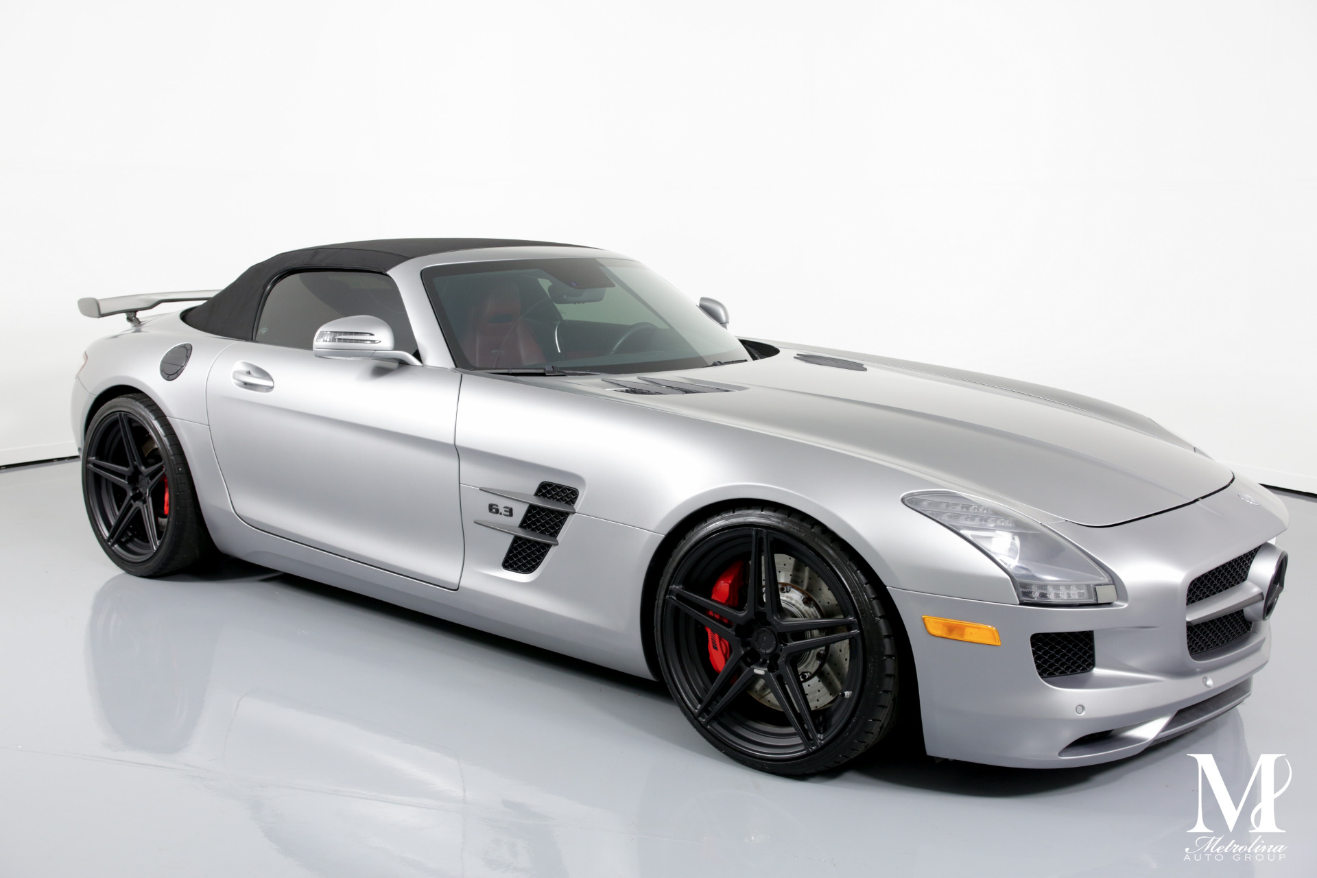 Used 2012 Mercedes-Benz SLS AMG for sale $139,996 at Metrolina Auto Group in Charlotte NC 28217 - 2
