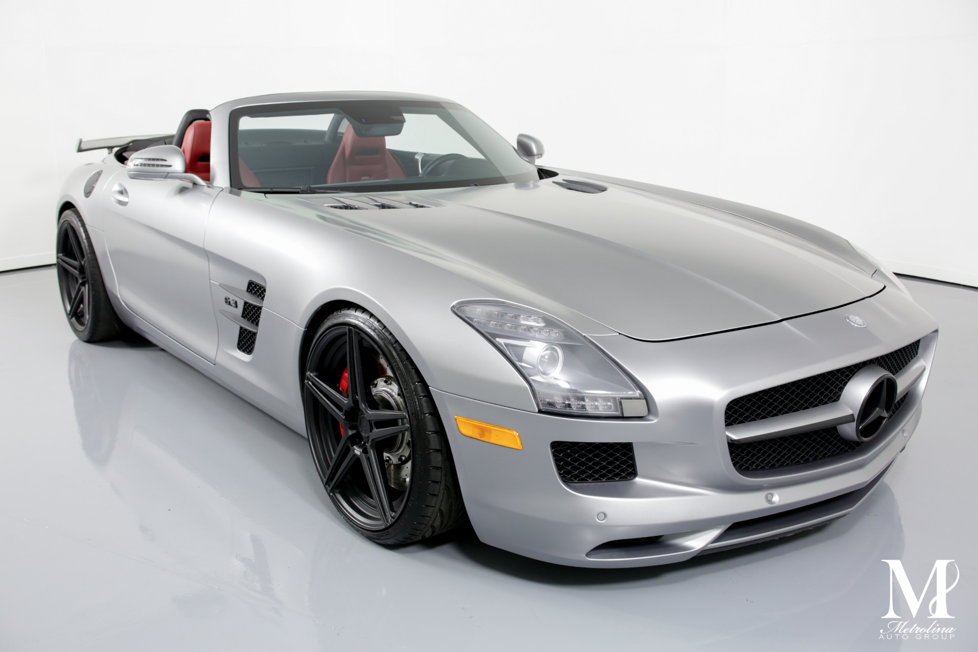 Used 2012 Mercedes-Benz SLS AMG for sale $139,996 at Metrolina Auto Group in Charlotte NC 28217 - 3